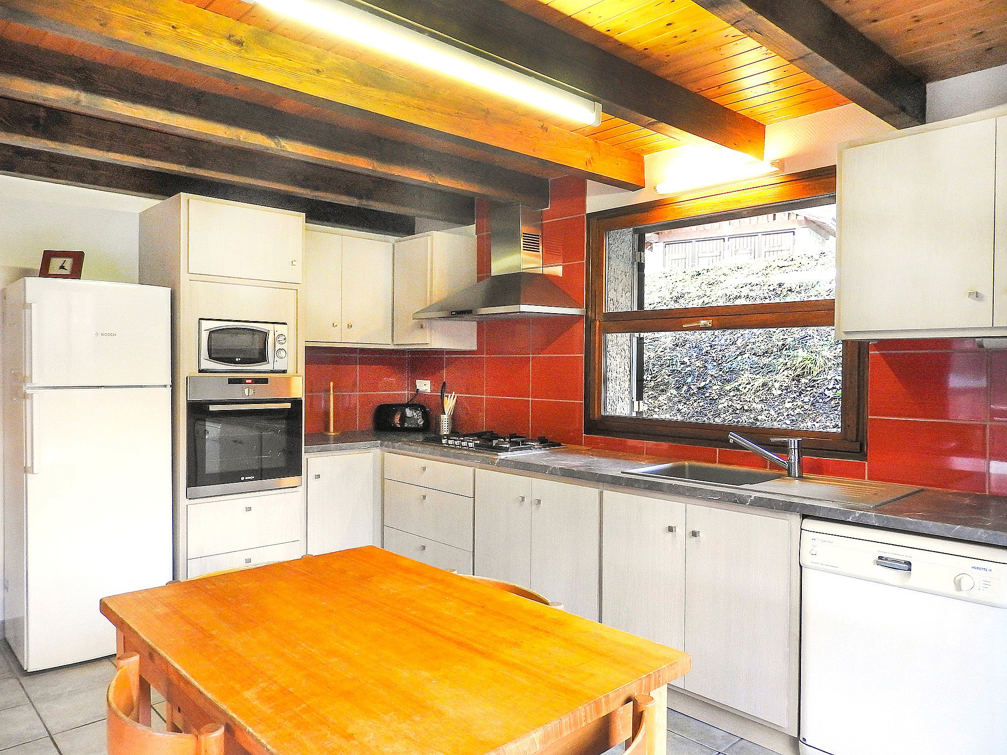 Chalet Carella - kitchen