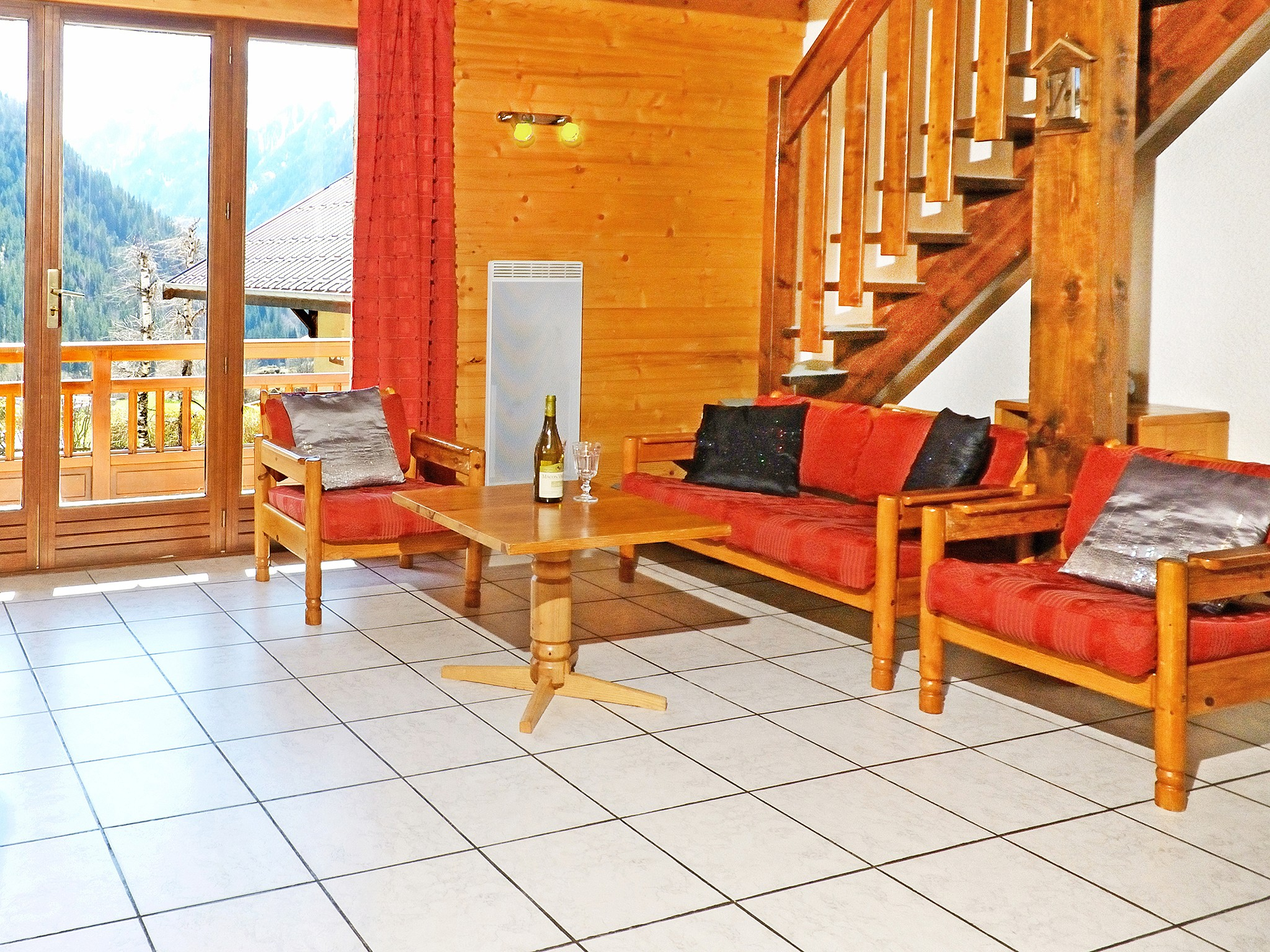 Chalet Carella - living room