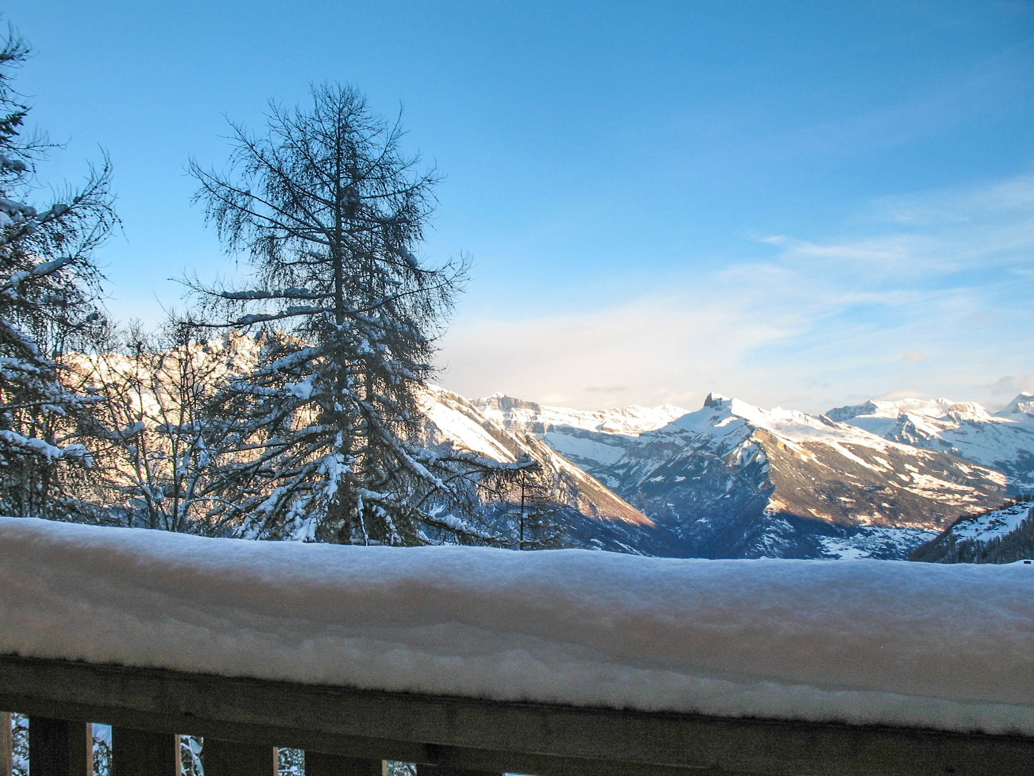 Chalet Michelle - panoramic view