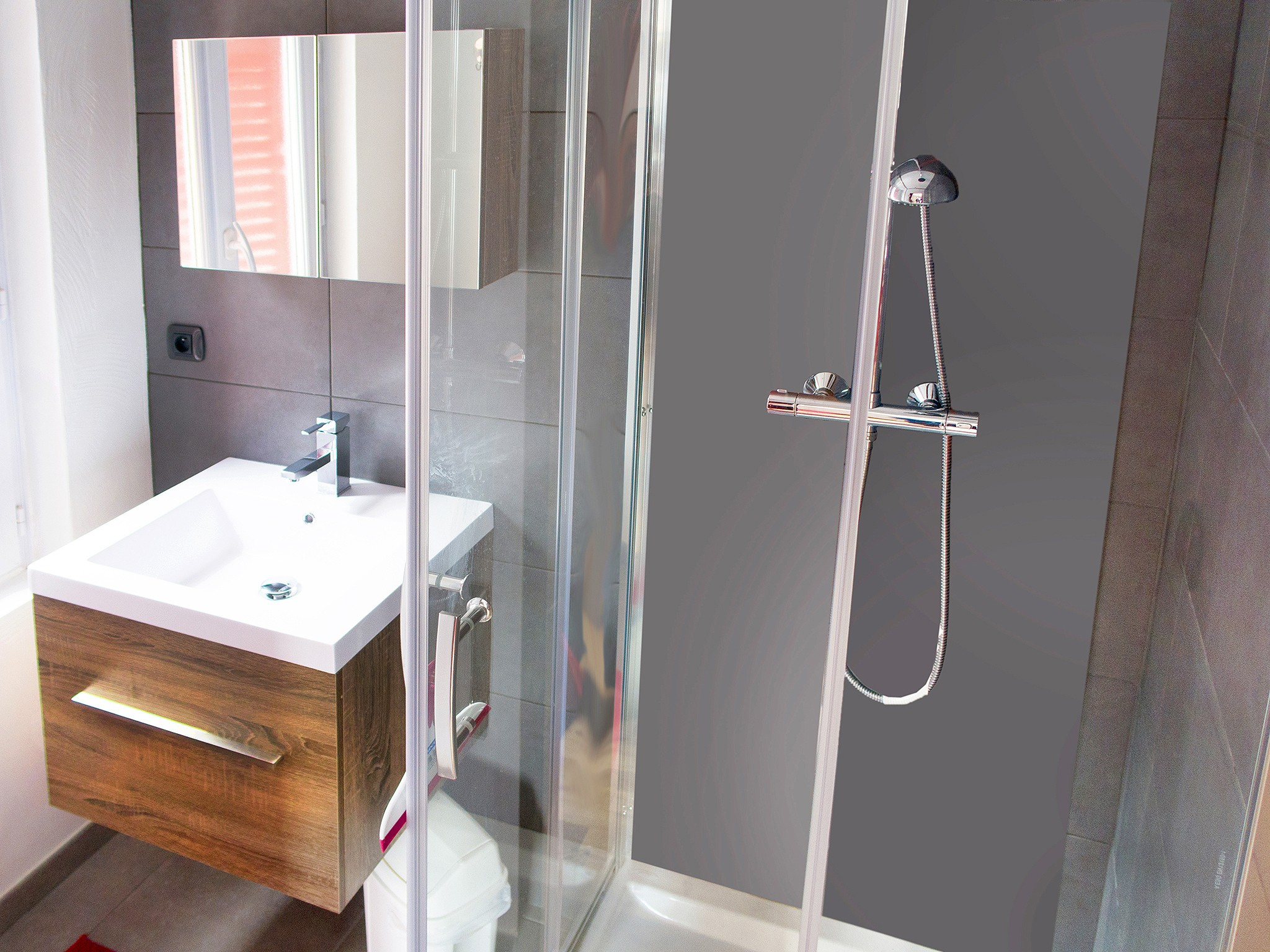 Chalet La Brise - bathroom