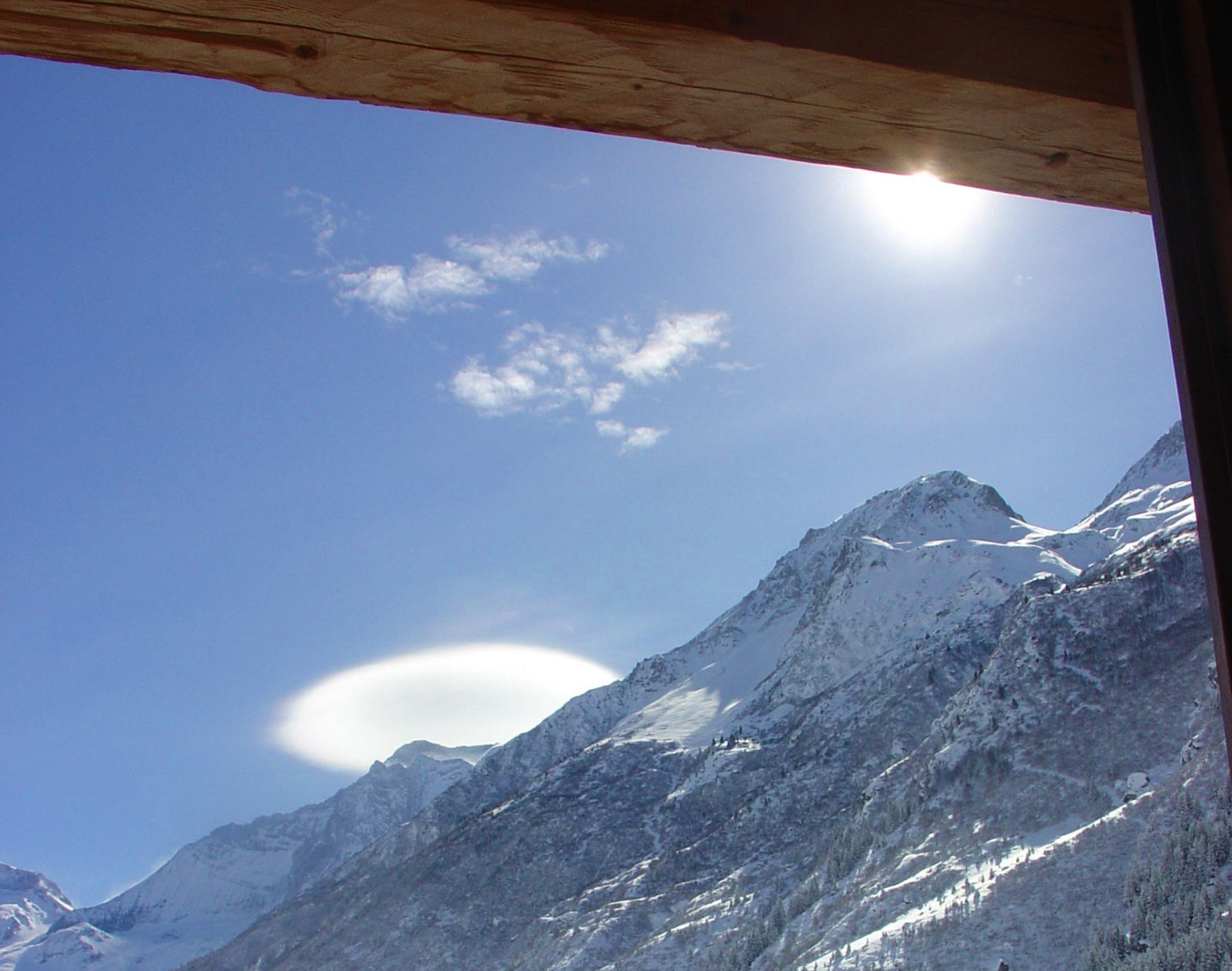 Chalet Champagny CPV01 - panoramic view