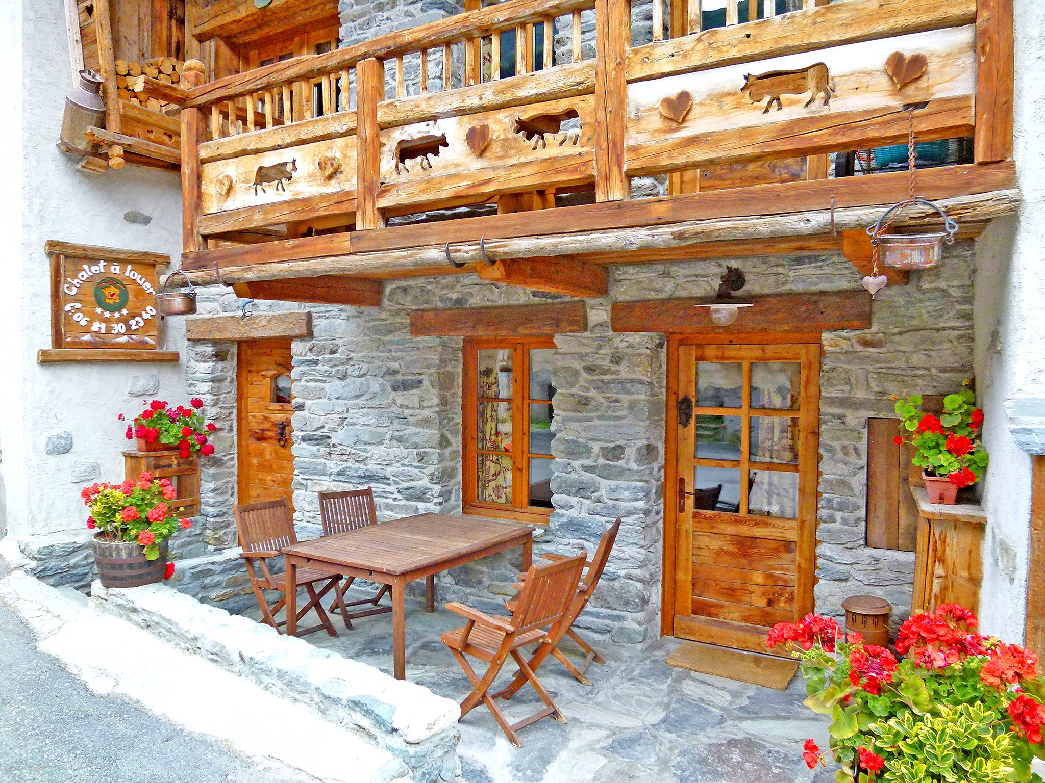 Chalet Champagny CPV01 - terrace