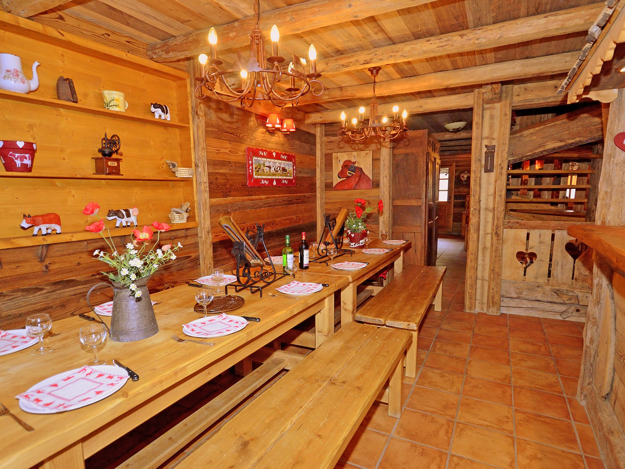 Chalet Champagny CPV01 - coin repas
