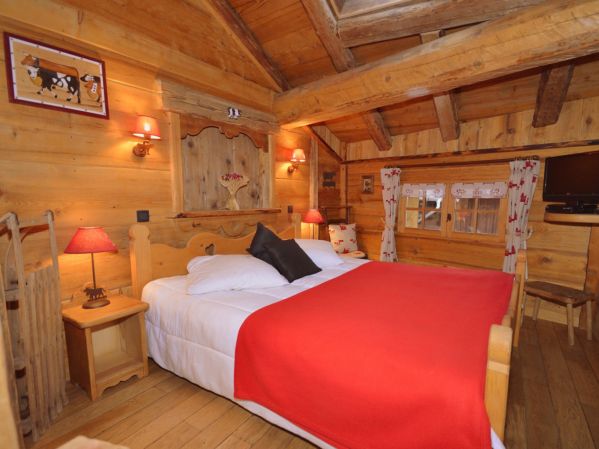 Chalet Champagny CPV01 - chambre