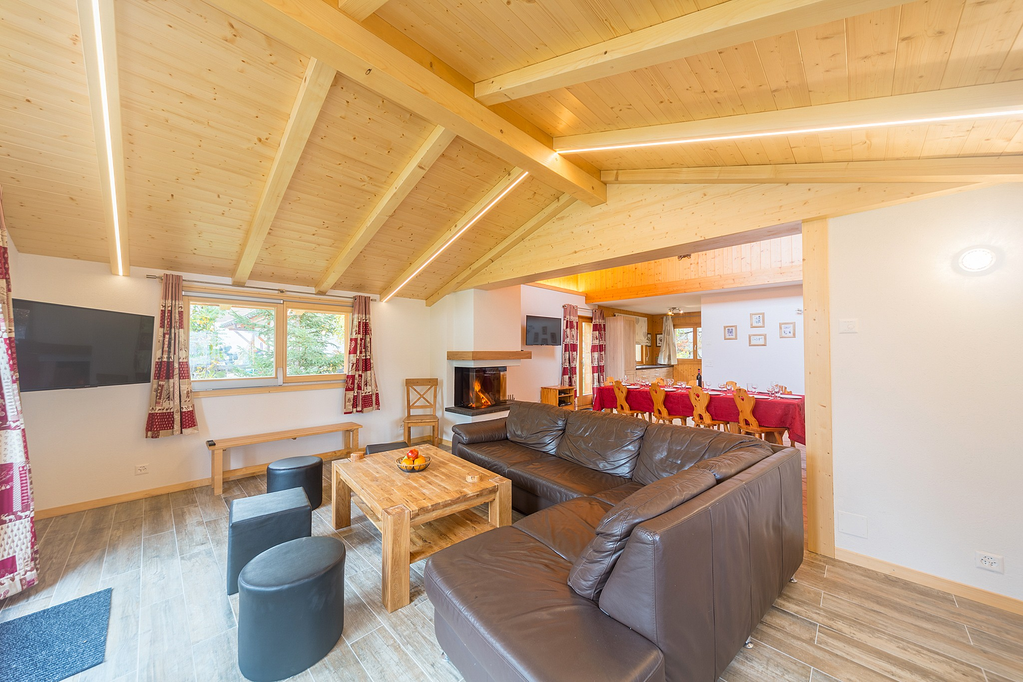 Chalet Pierina - living room