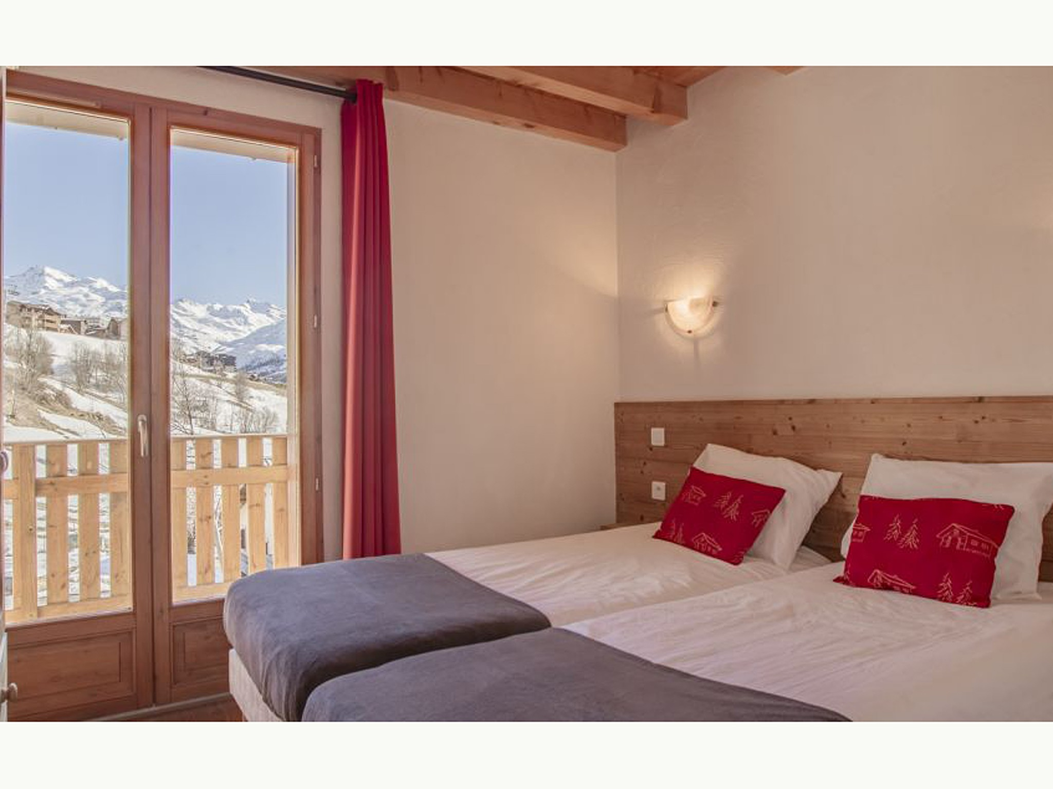 CHALET BREQUIN - chambre