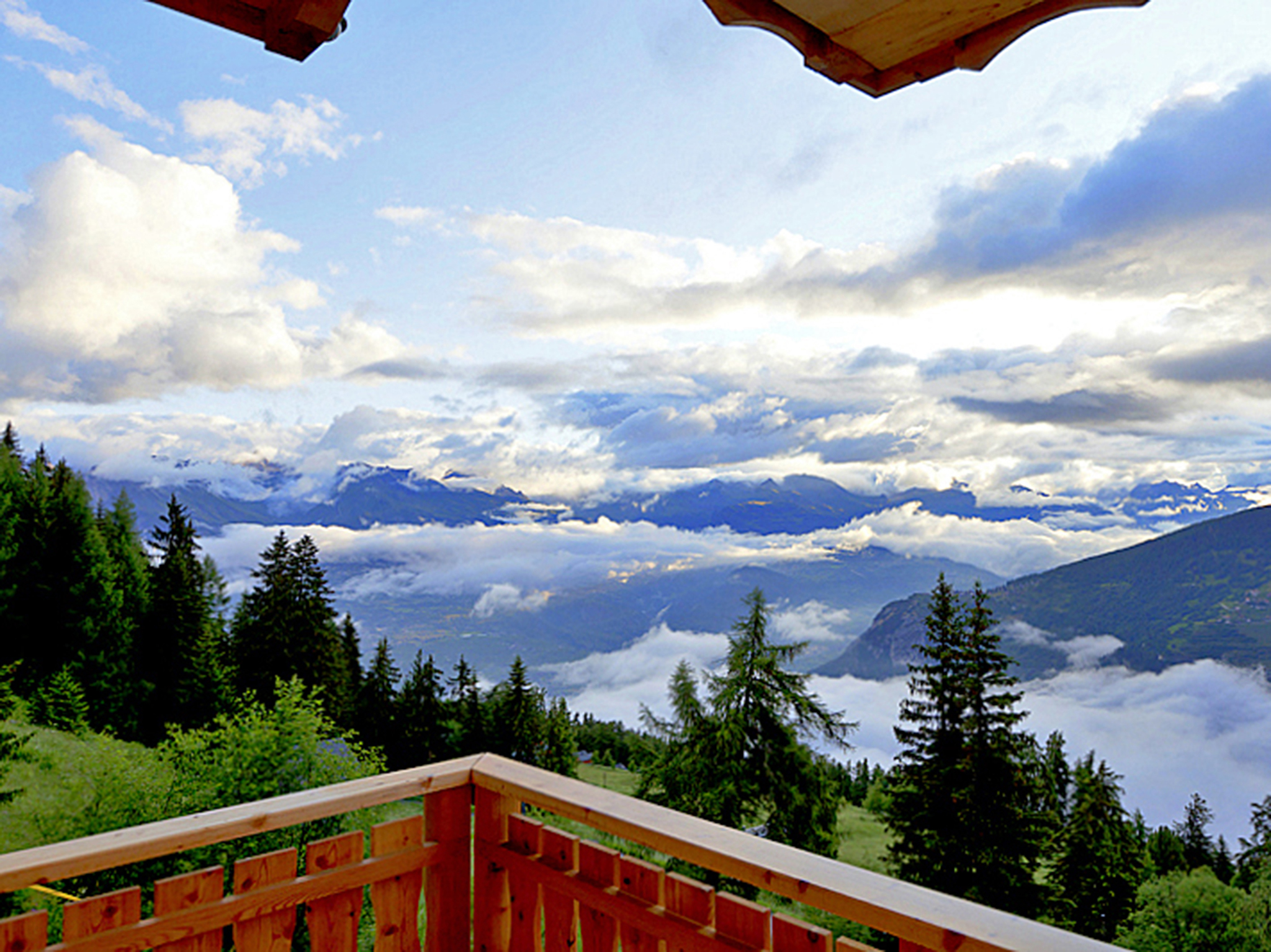 Chalet Celine - panoramic view