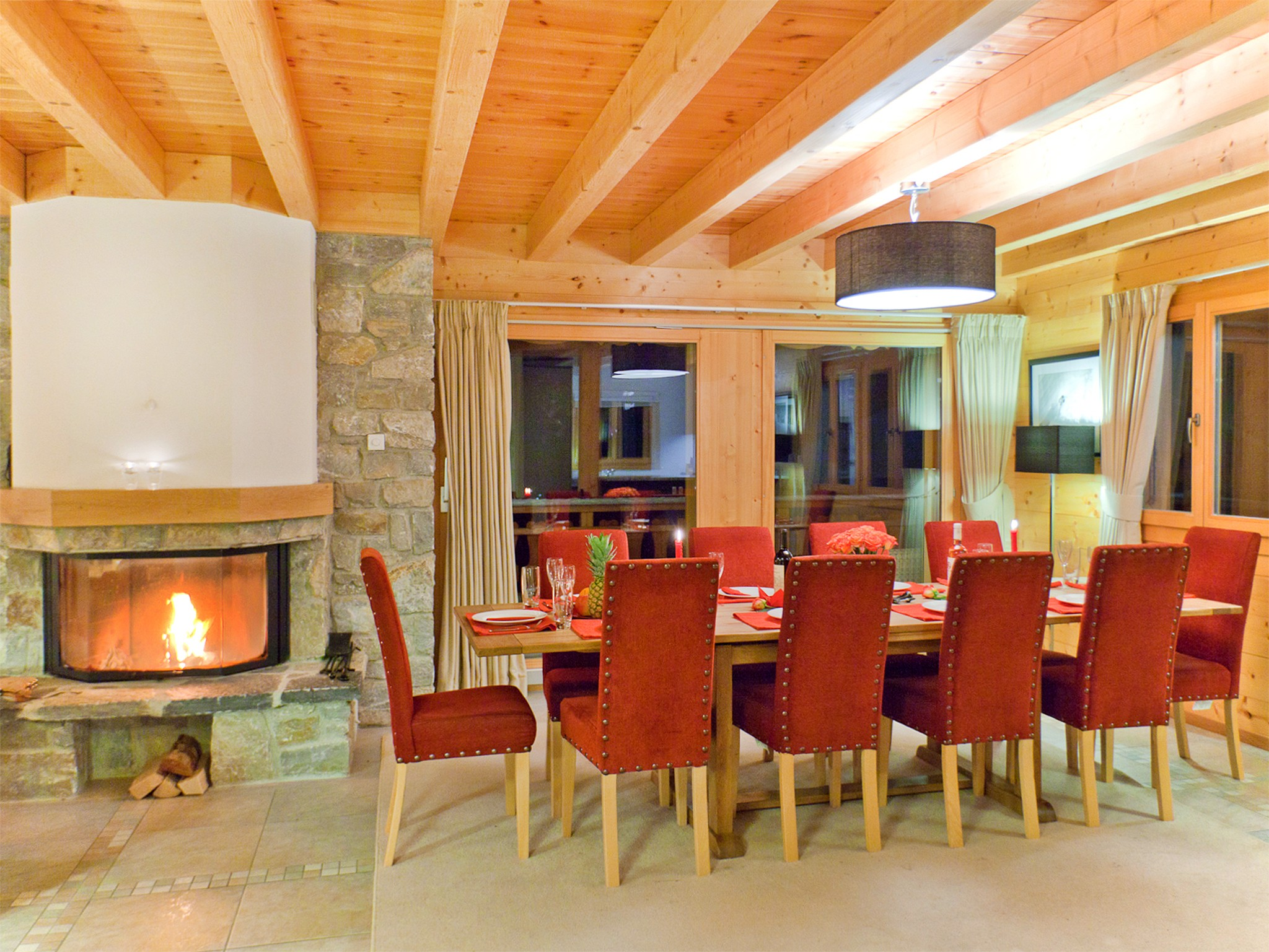 Chalet Teychenne - dining area