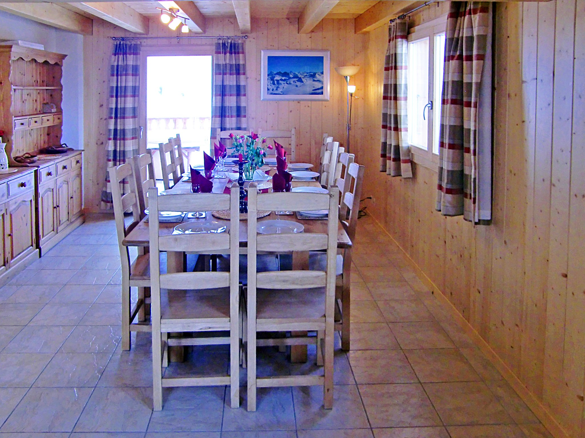 Chalet Charmille - coin repas