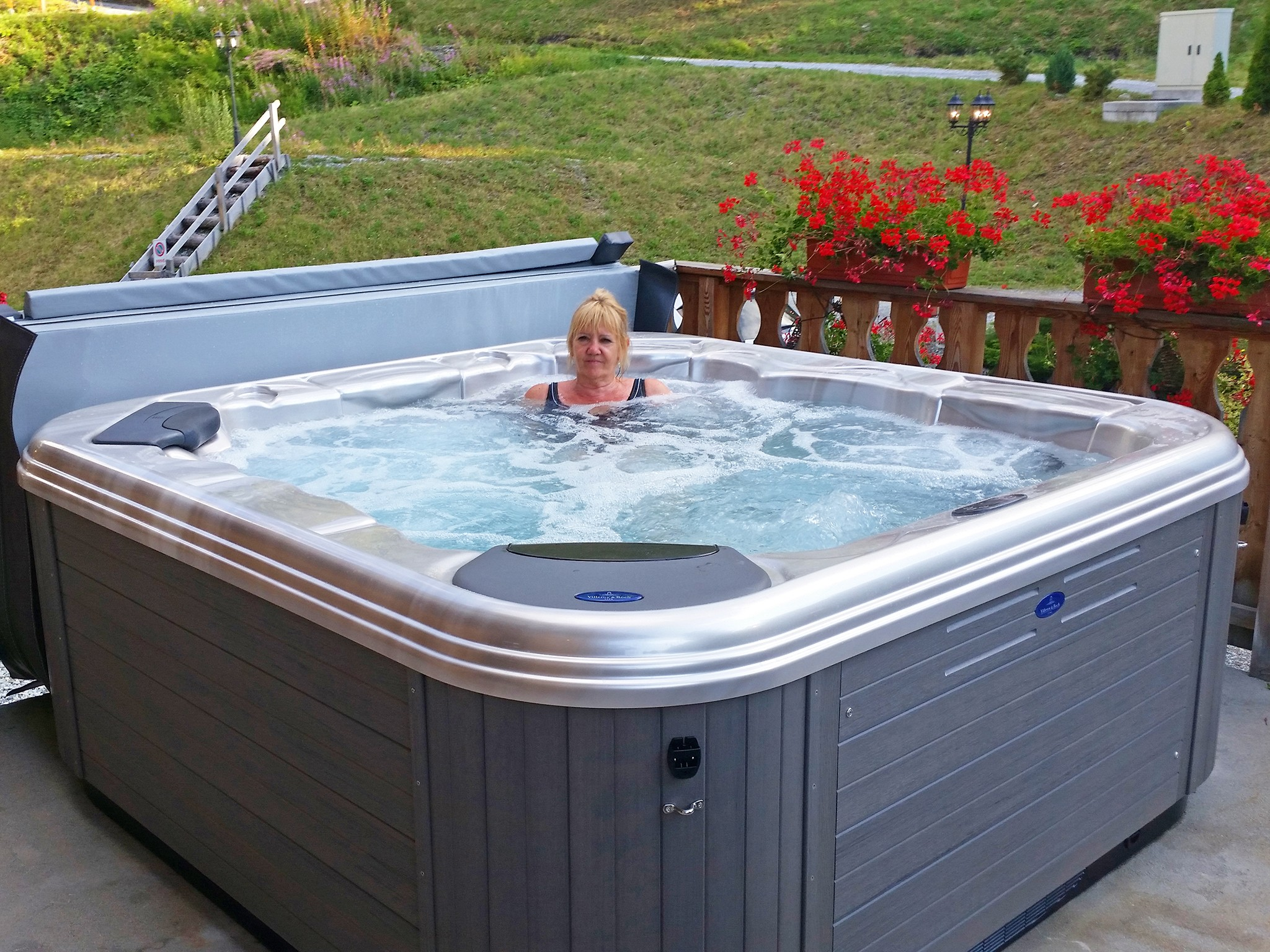 Chalet Charmille - Whirlpool