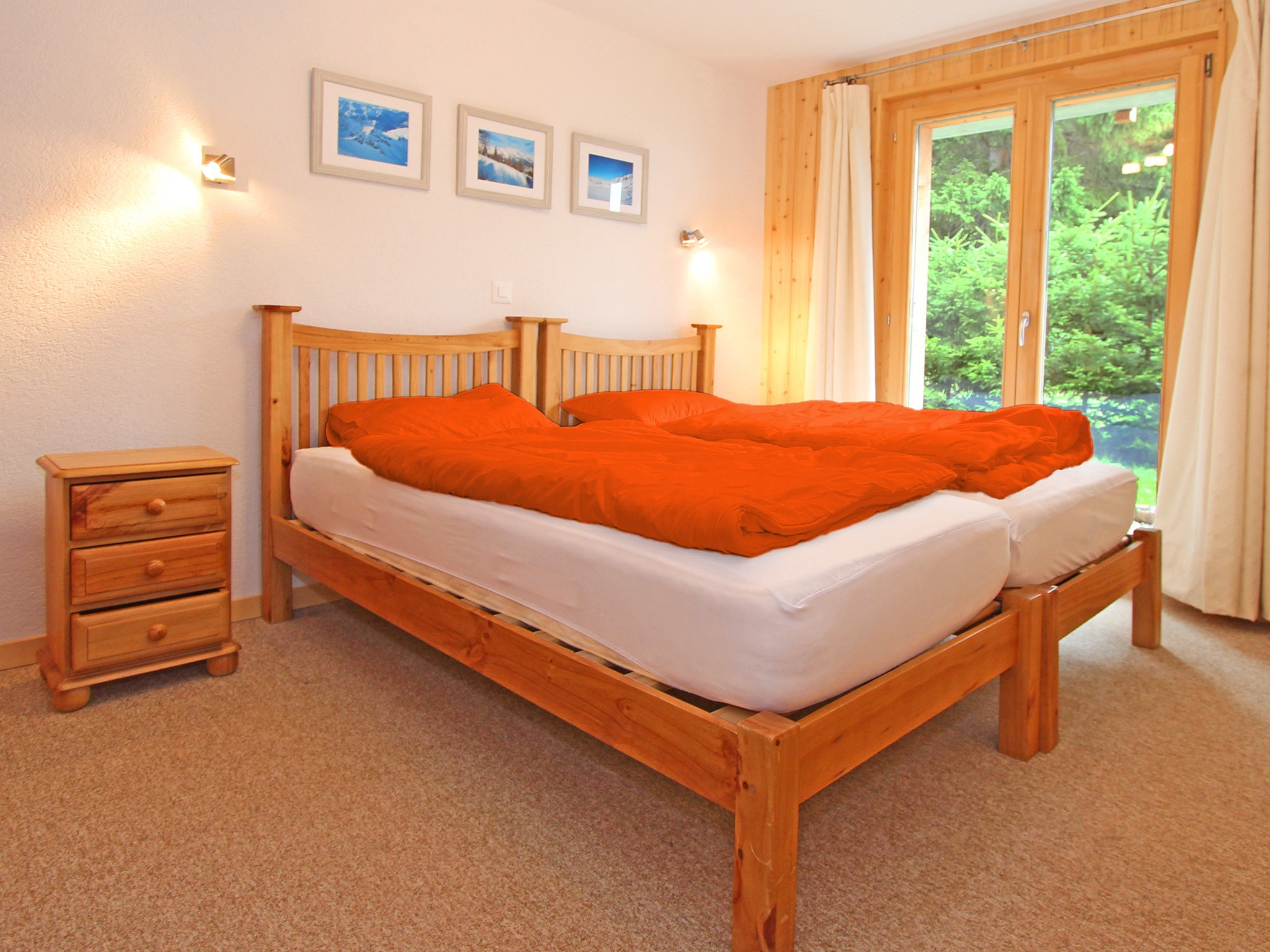 Chalet Charmille - chambre