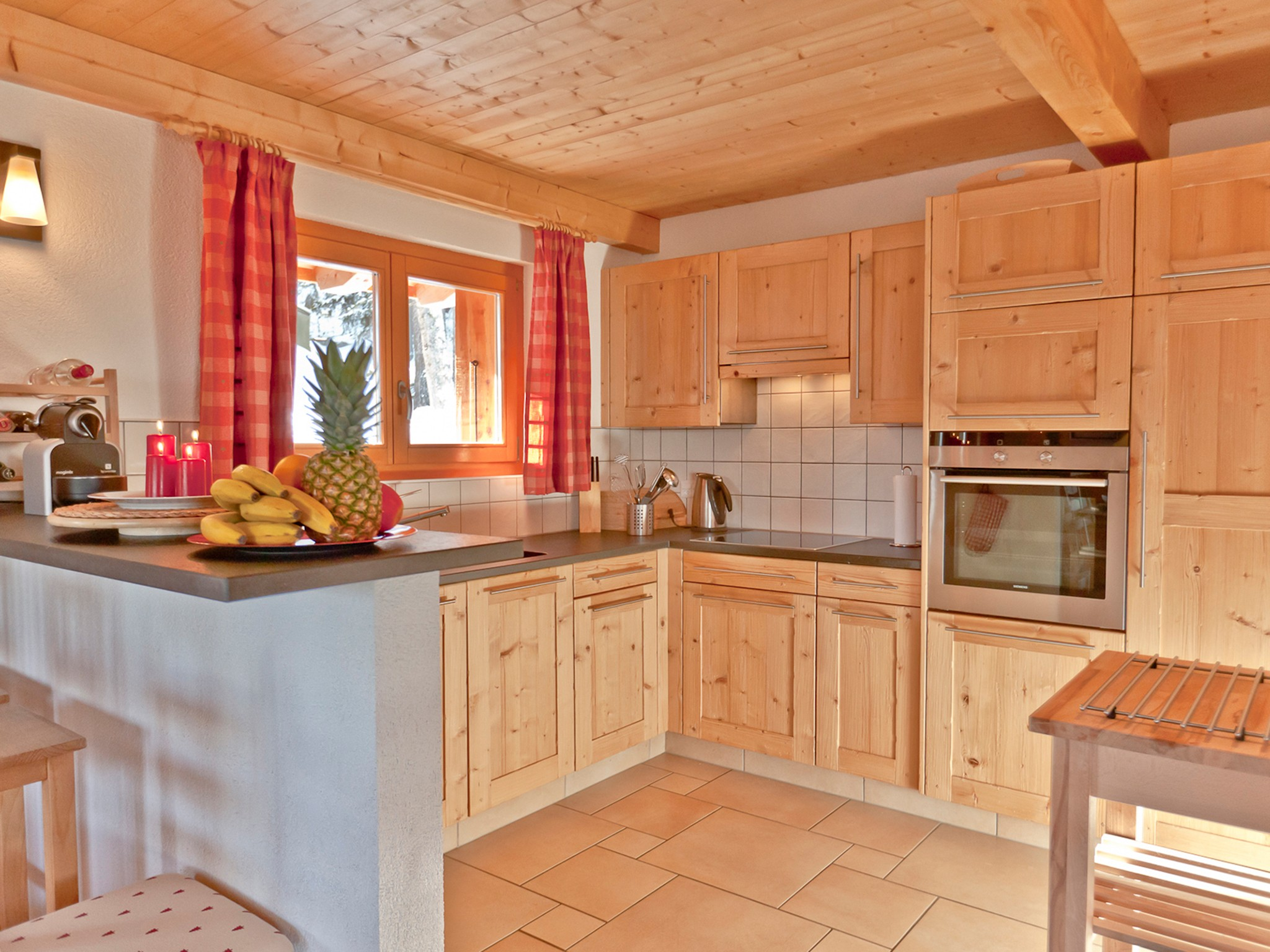 Chalet Collons 1850 - kitchen