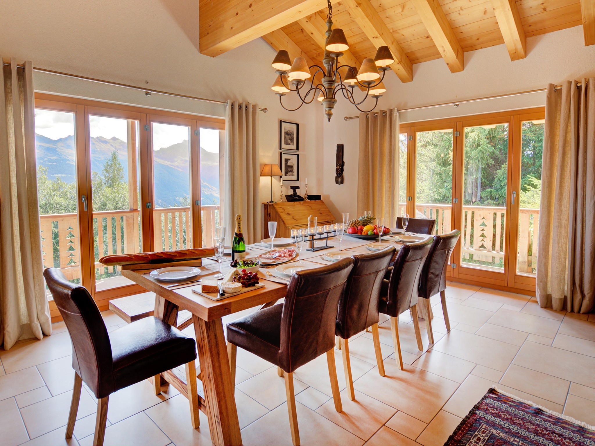 Chalet Collons 1850 - coin repas
