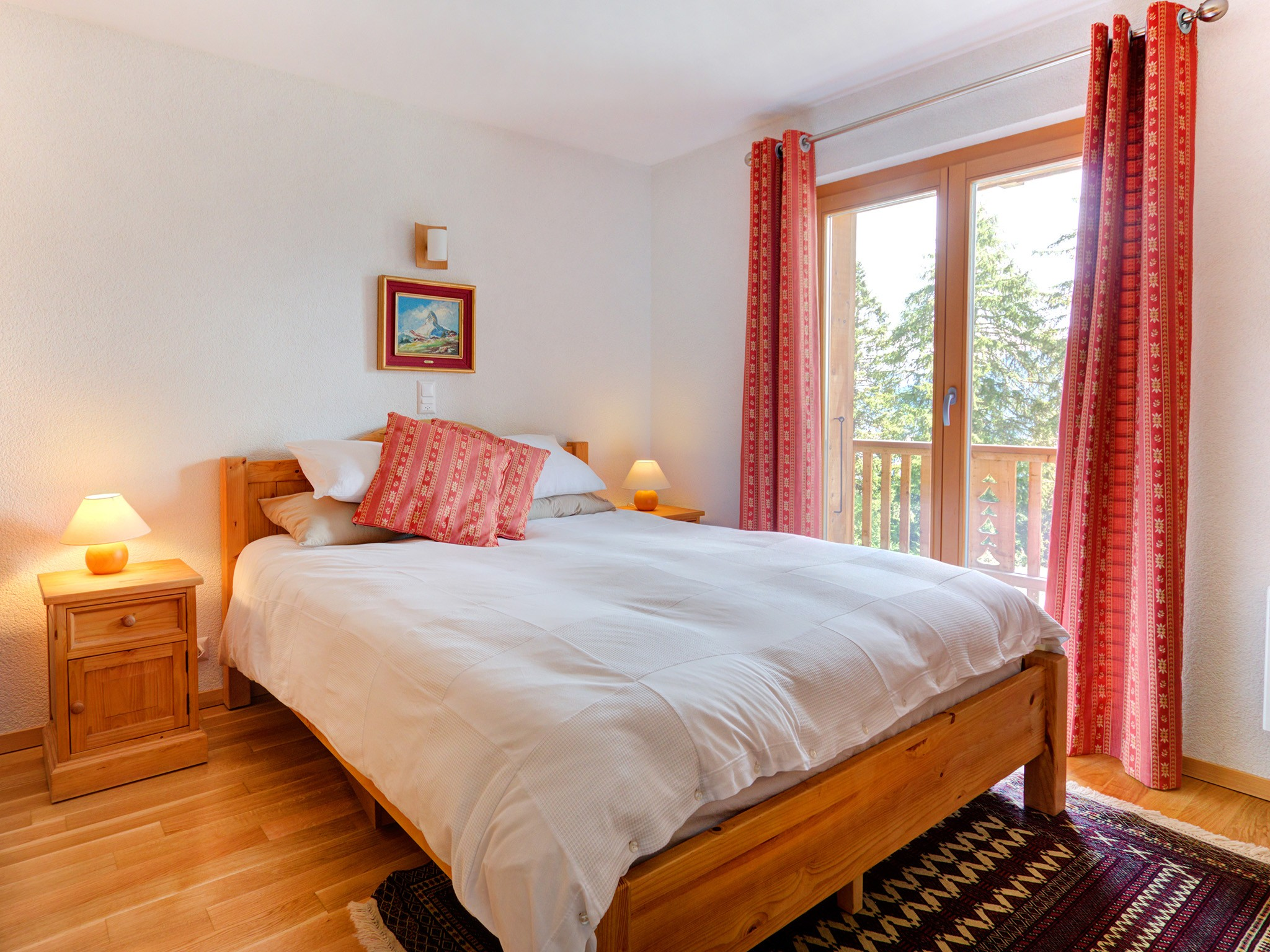 Chalet Collons 1850 - chambre