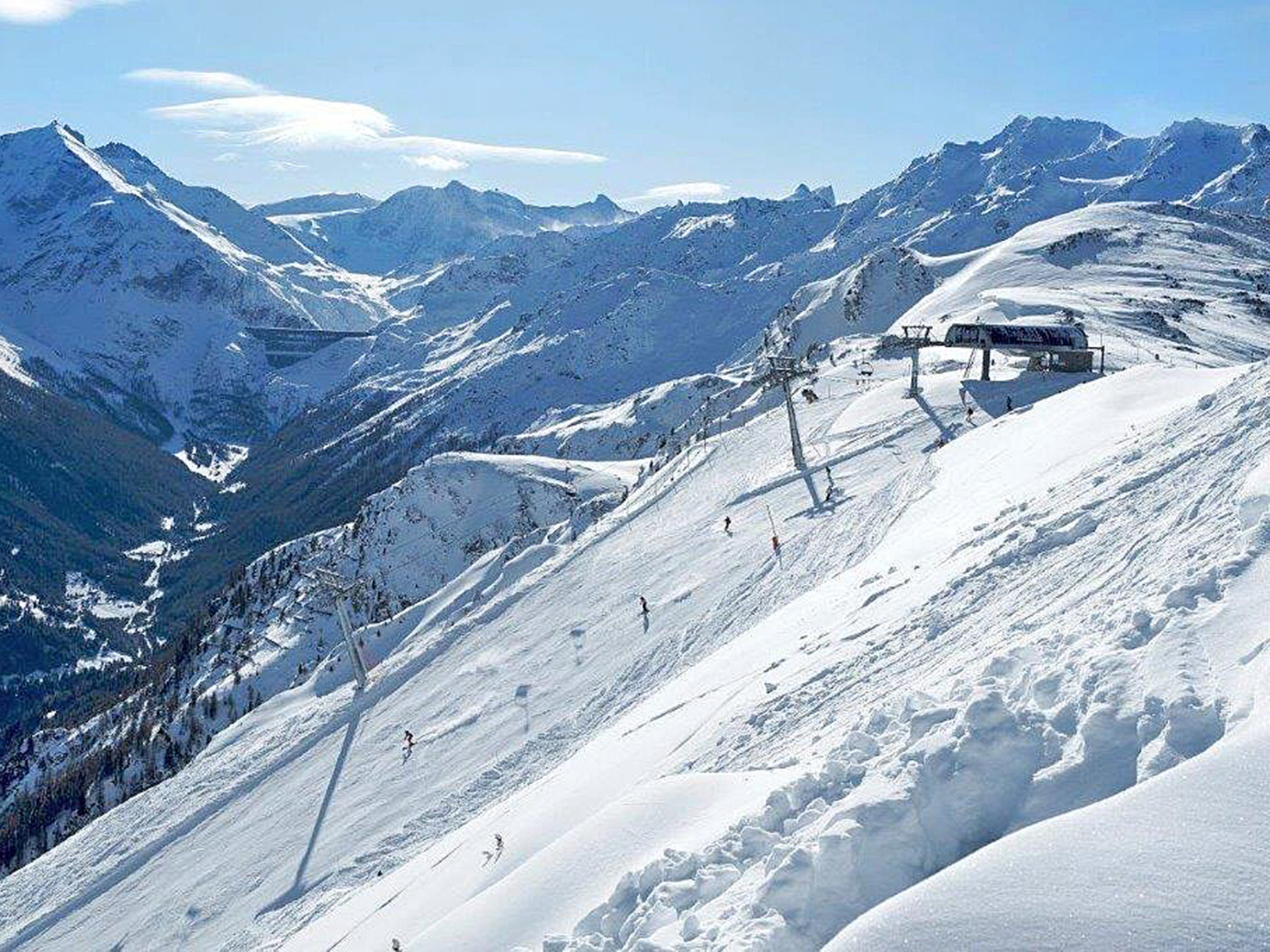 Chalet Collons 1850 - domaine skiable
