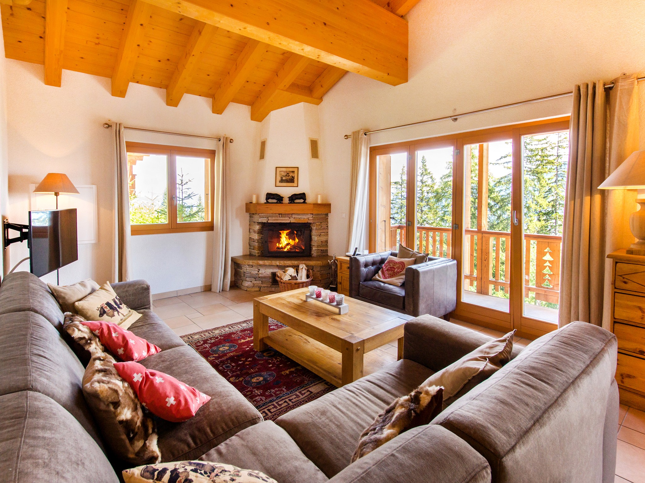 Chalet Collons 1850 - living room