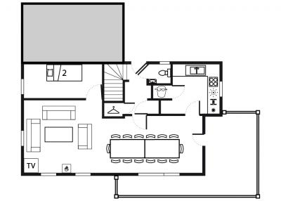 Chalet Saint Marc - floor plan