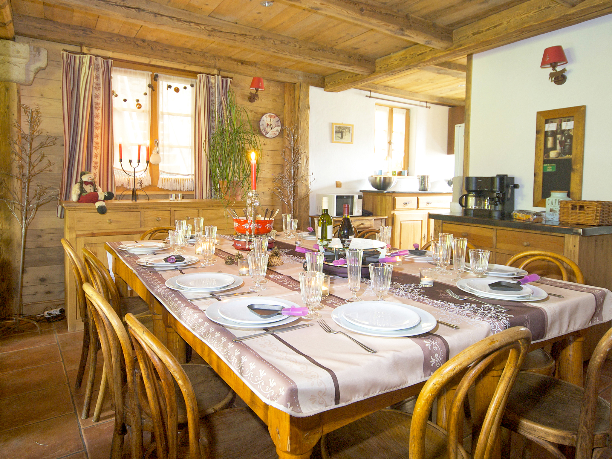 Chalet Deux Tetes I - dining area