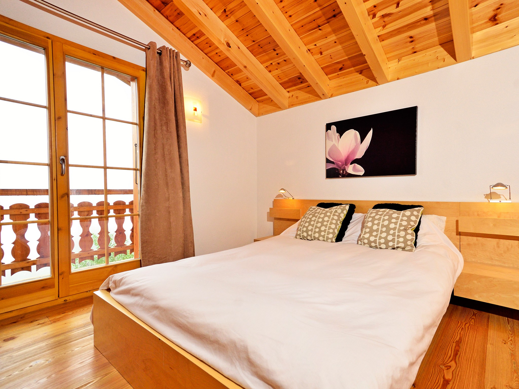 Chalet Bellevue - bedroom