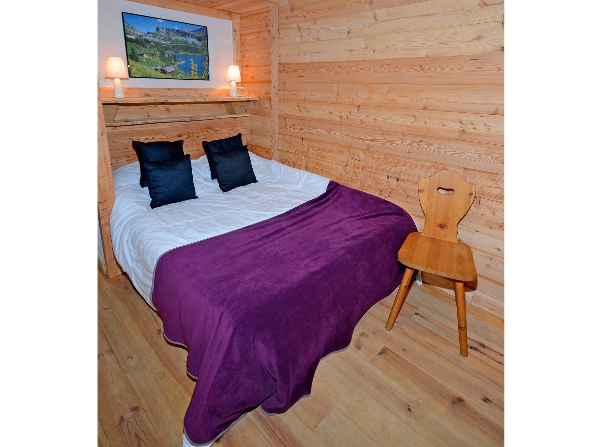 Chalet Pierra Menta - bedroom