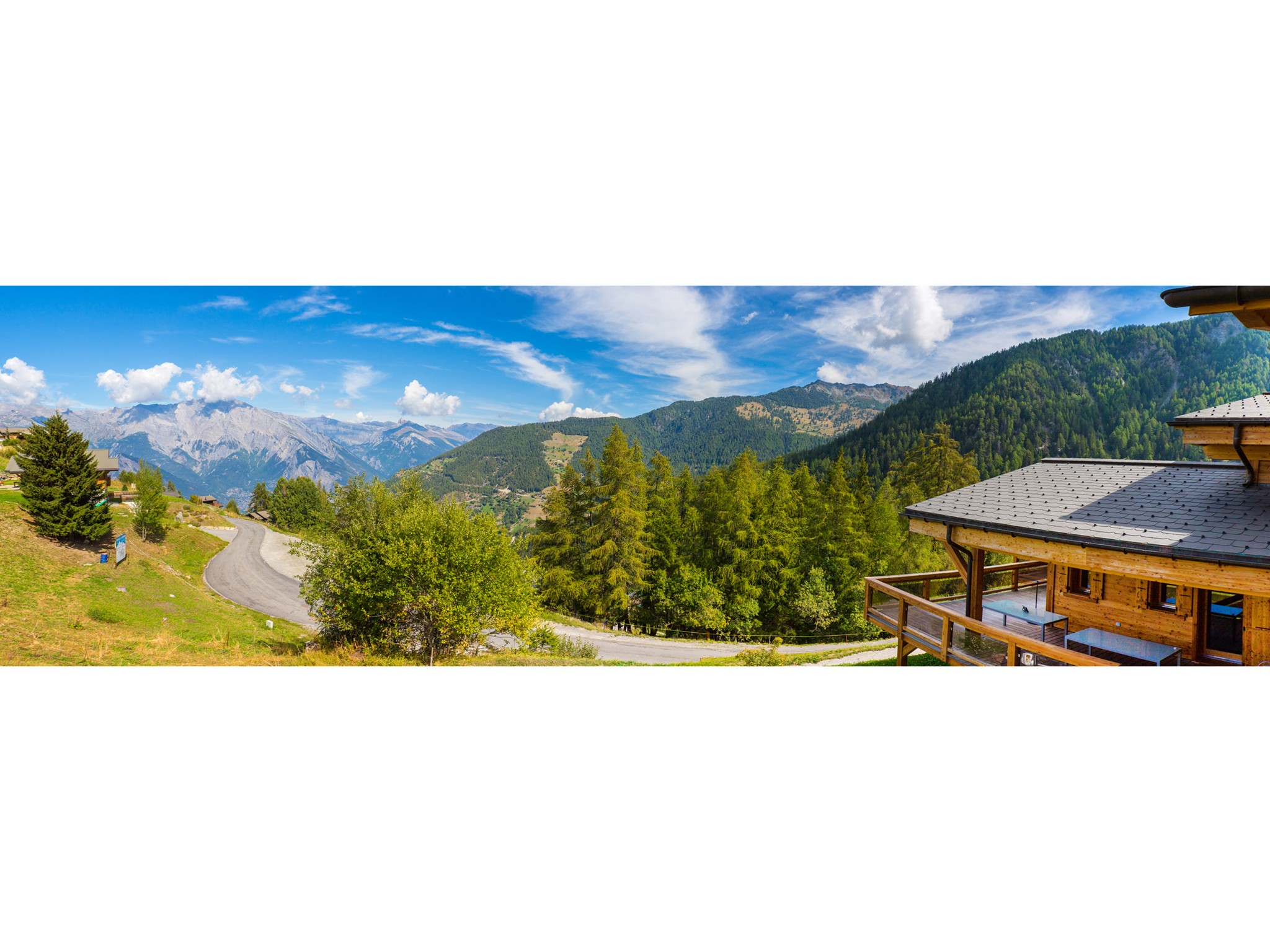 Chalet Flocon de Neige - panoramic view