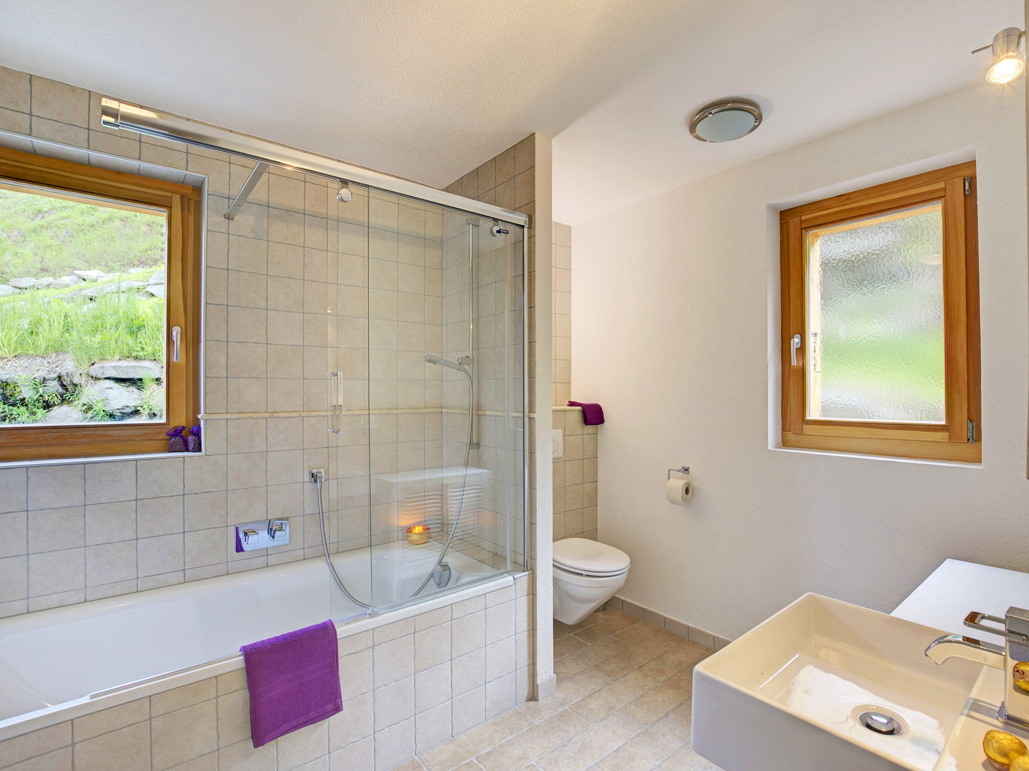 Chalet Bryher - bathroom