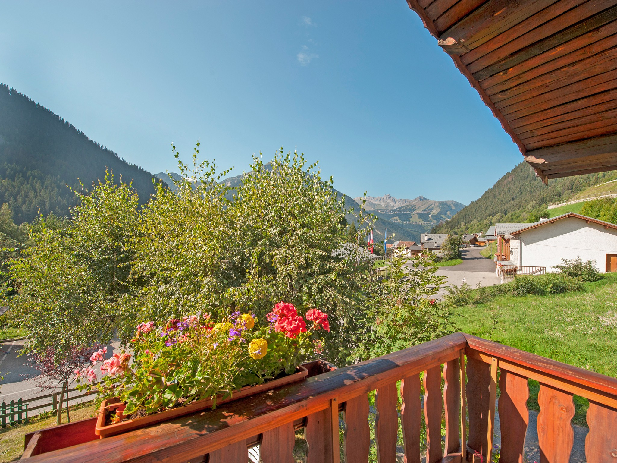 Chalet Vieux Moulin - panoramic view