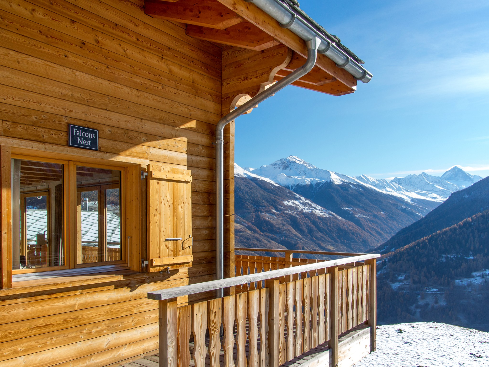 Chalet Falcons Nest - Panoramablick