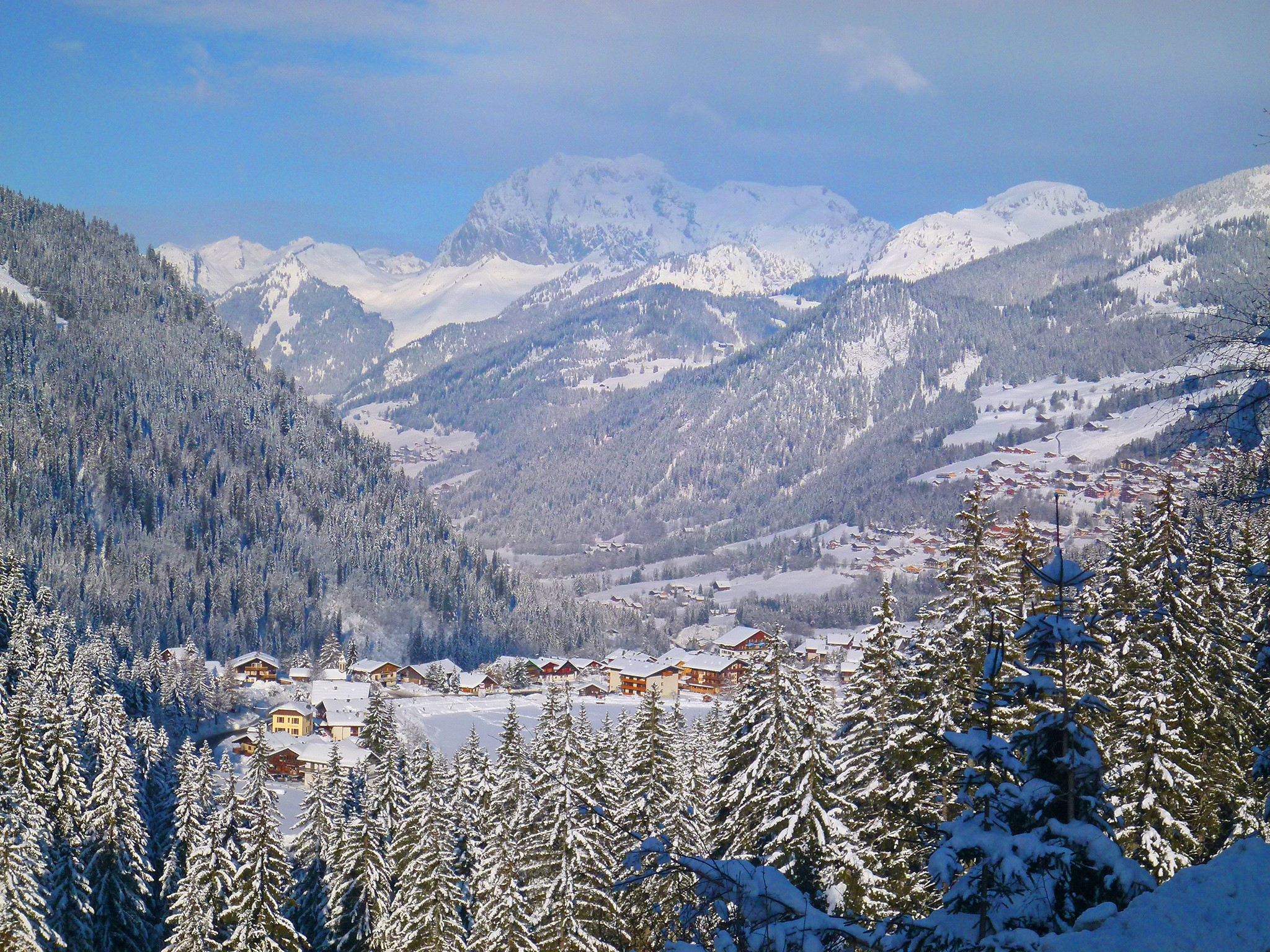 Chalet Châtel CBN01 - panoramic view