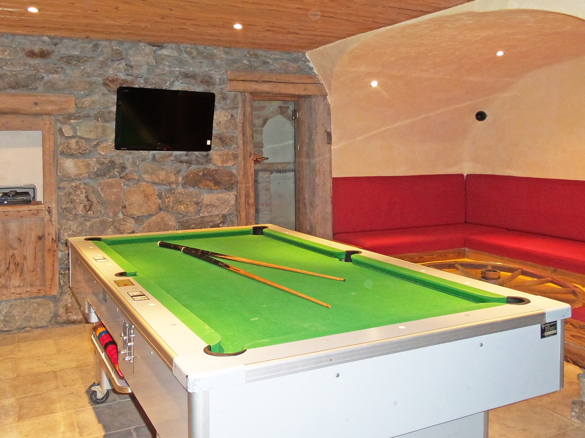 Chalet Bucher de Champagny - living room