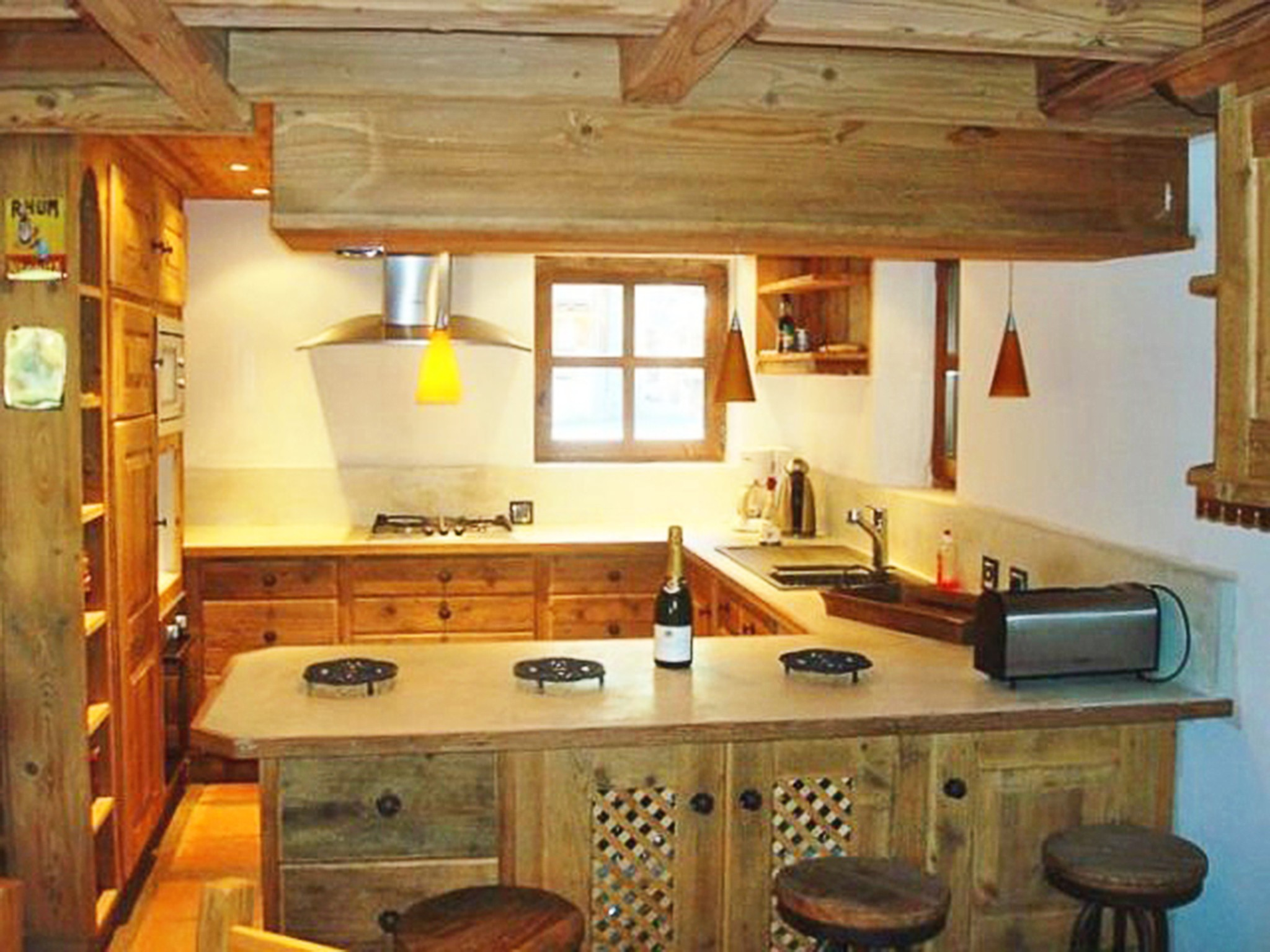 Chalet Bucher de Champagny - kitchen