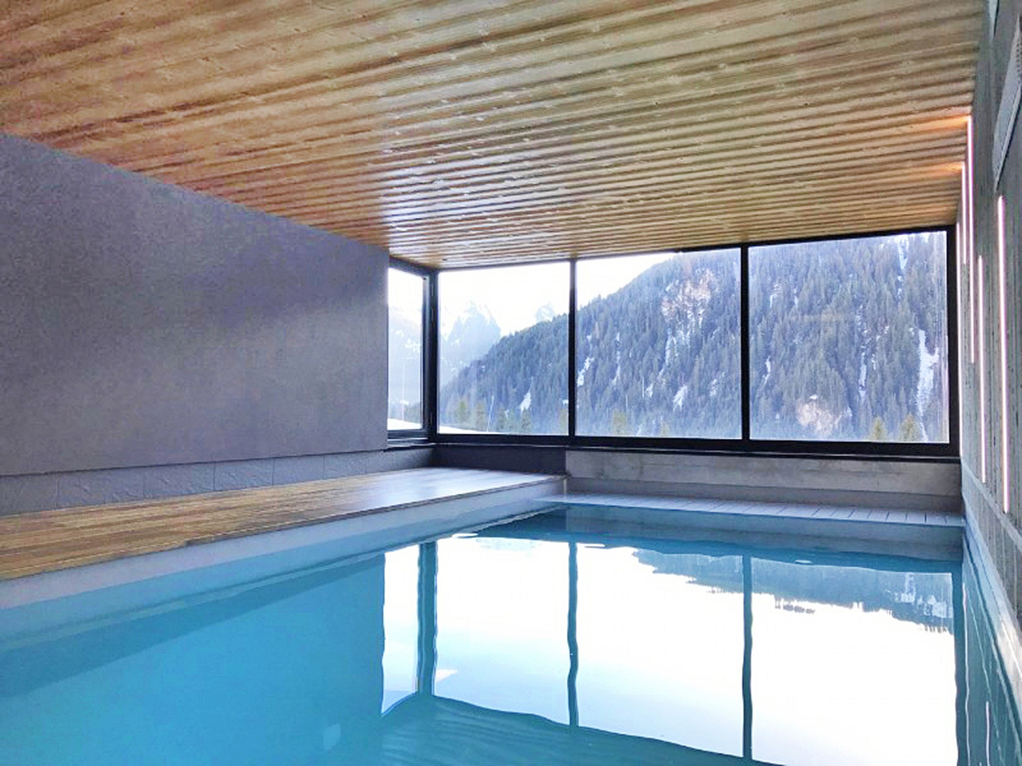 Chalet Châtel CSX01  - indoor pool