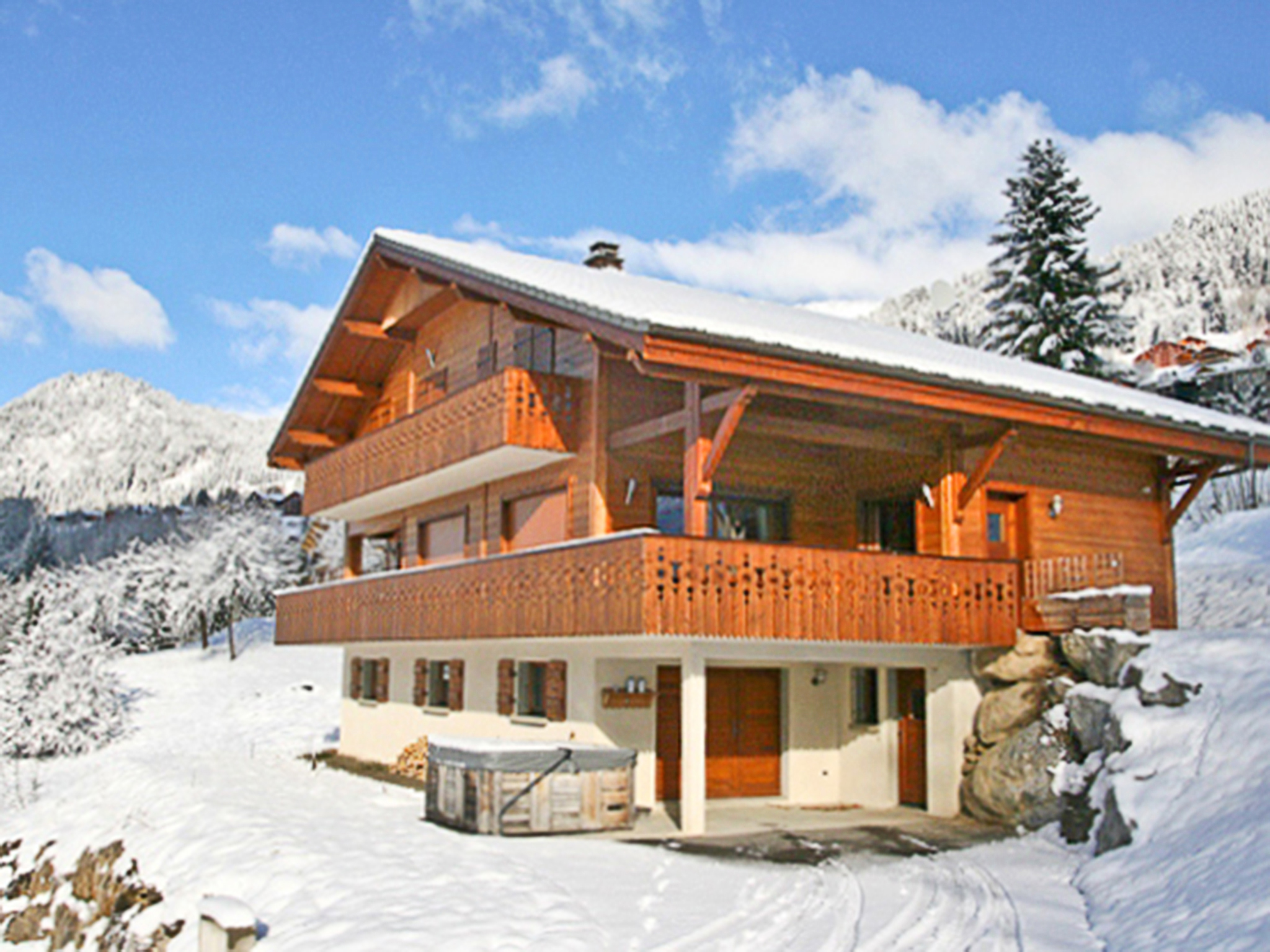 Chalet Châtel CMO01