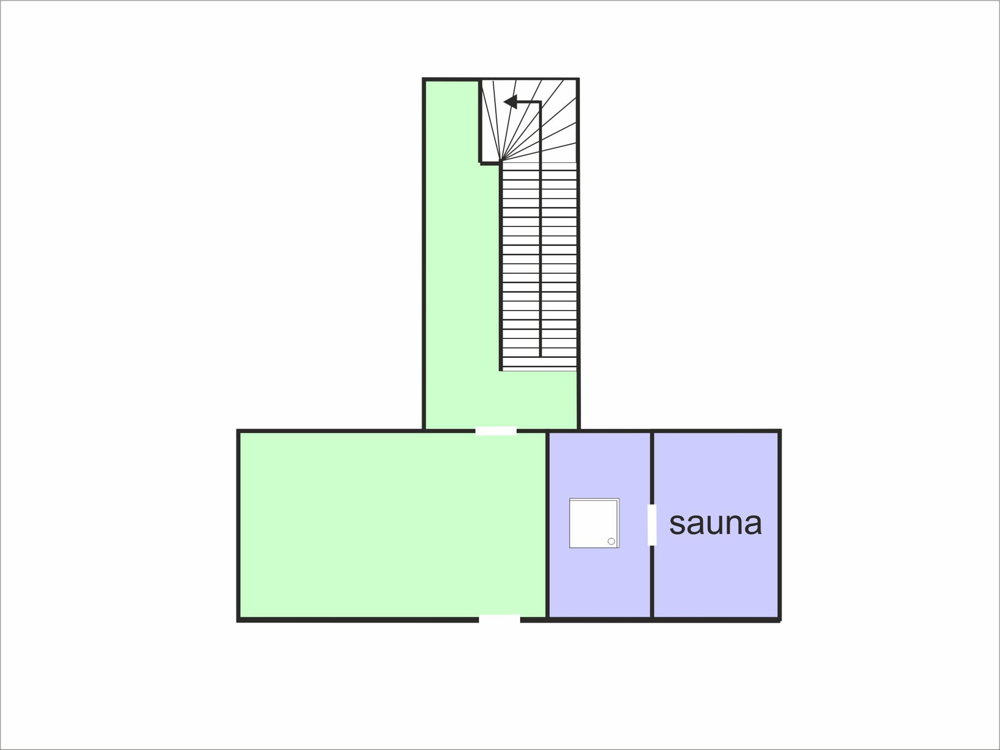 Chalet Chaud - floor plan - level 0