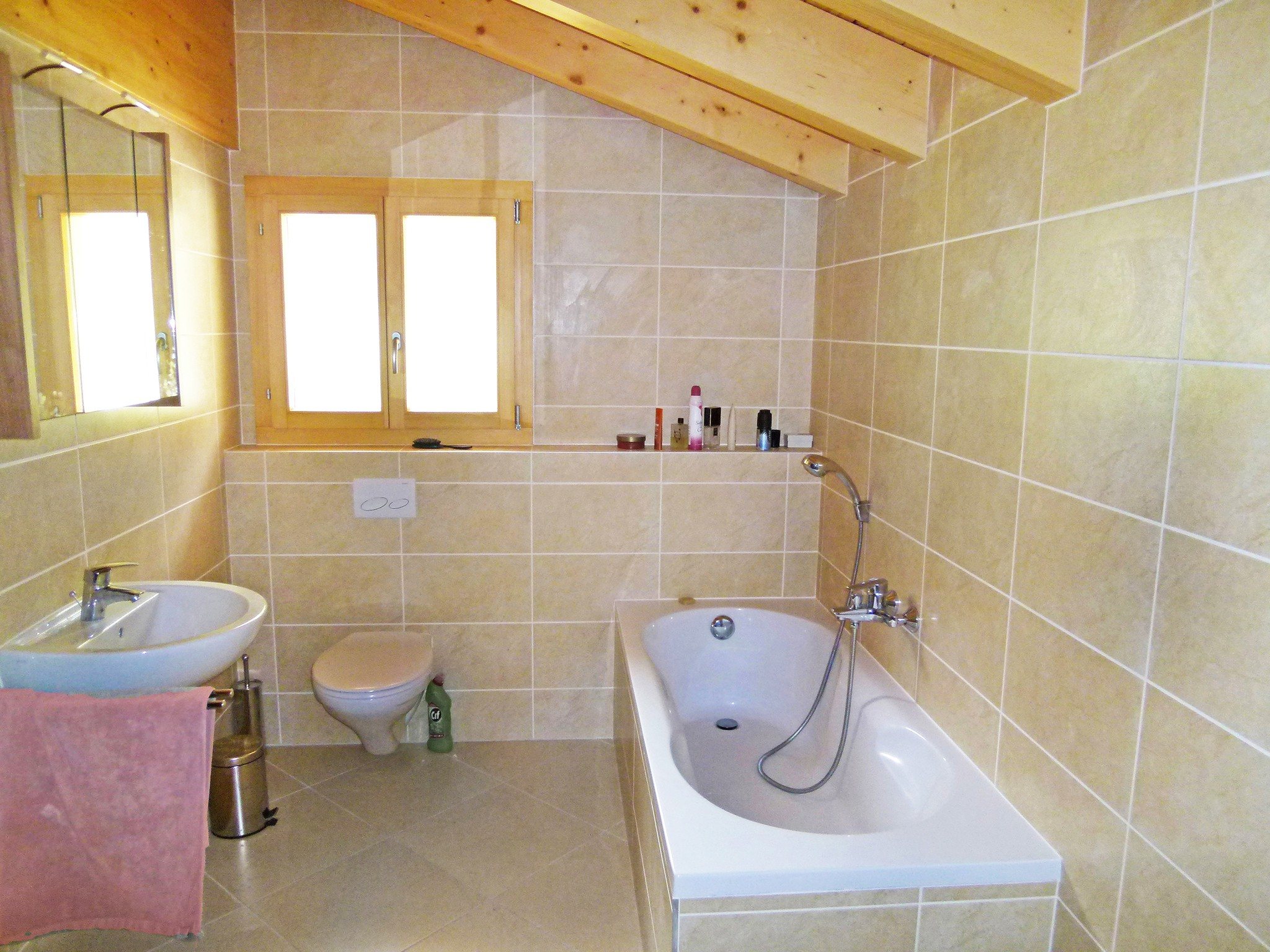 Chalet Chaud - bathroom
