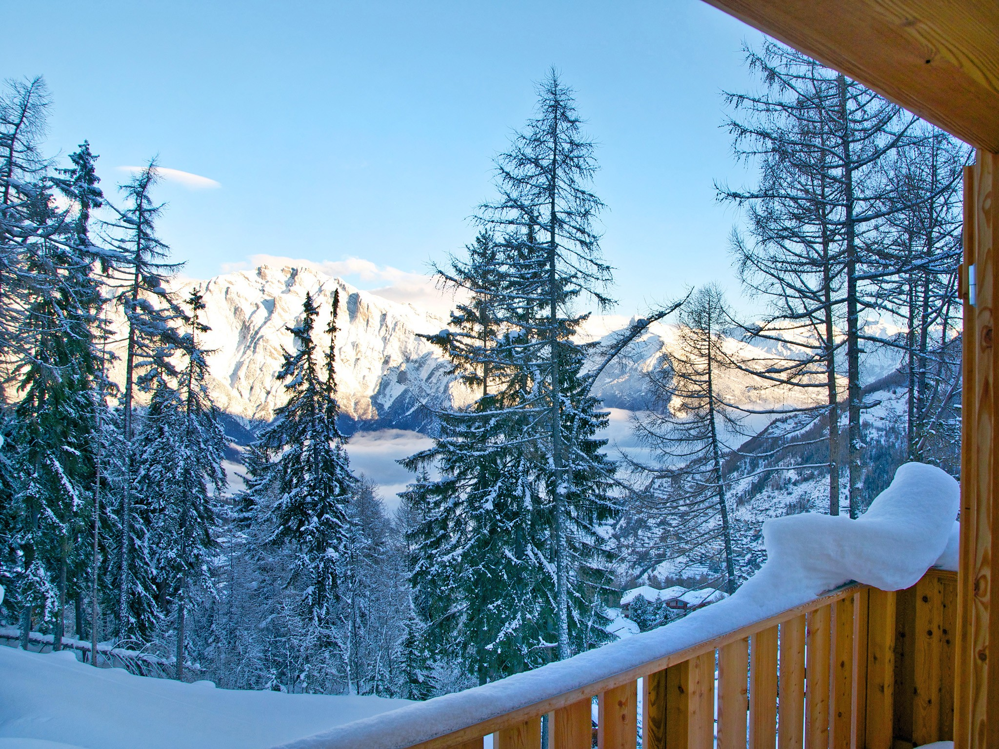 Chalet Chaud - panoramic view