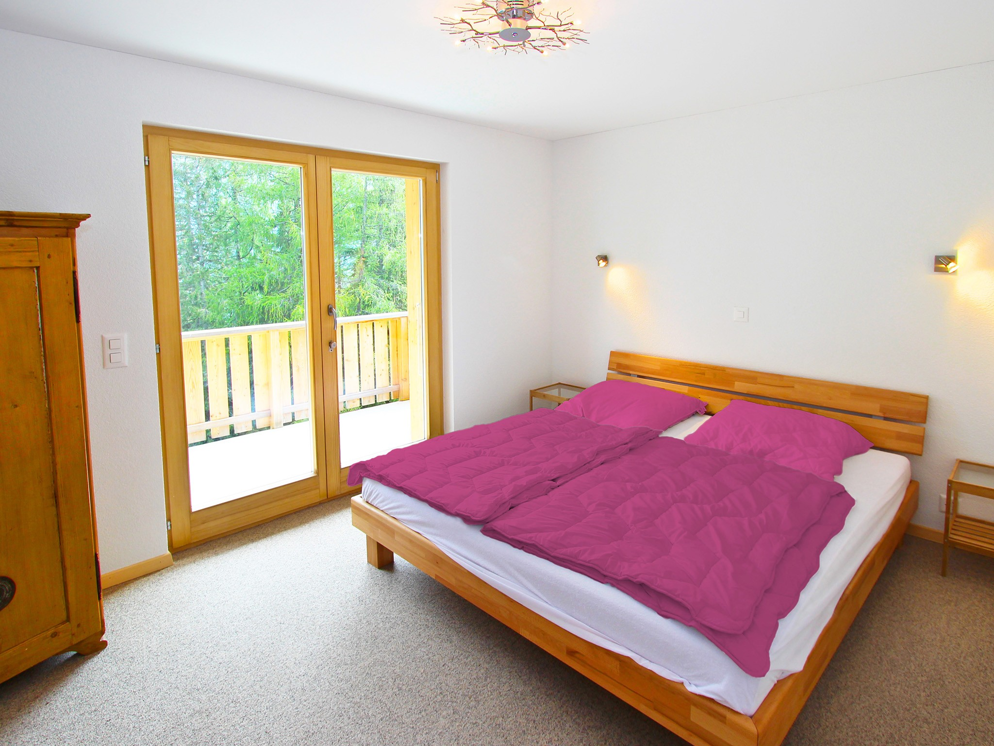 Chalet Chaud - bedroom