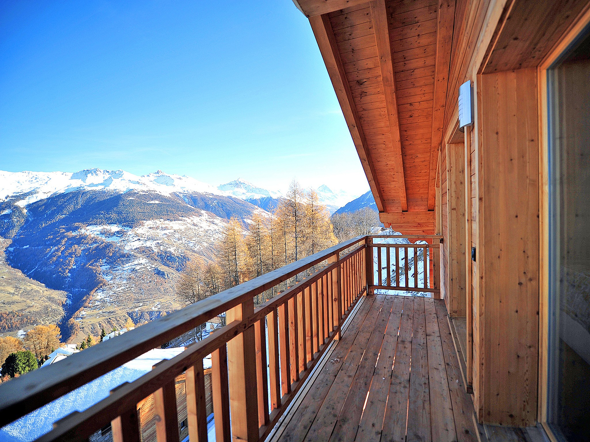 Chalet Brock - panoramic view