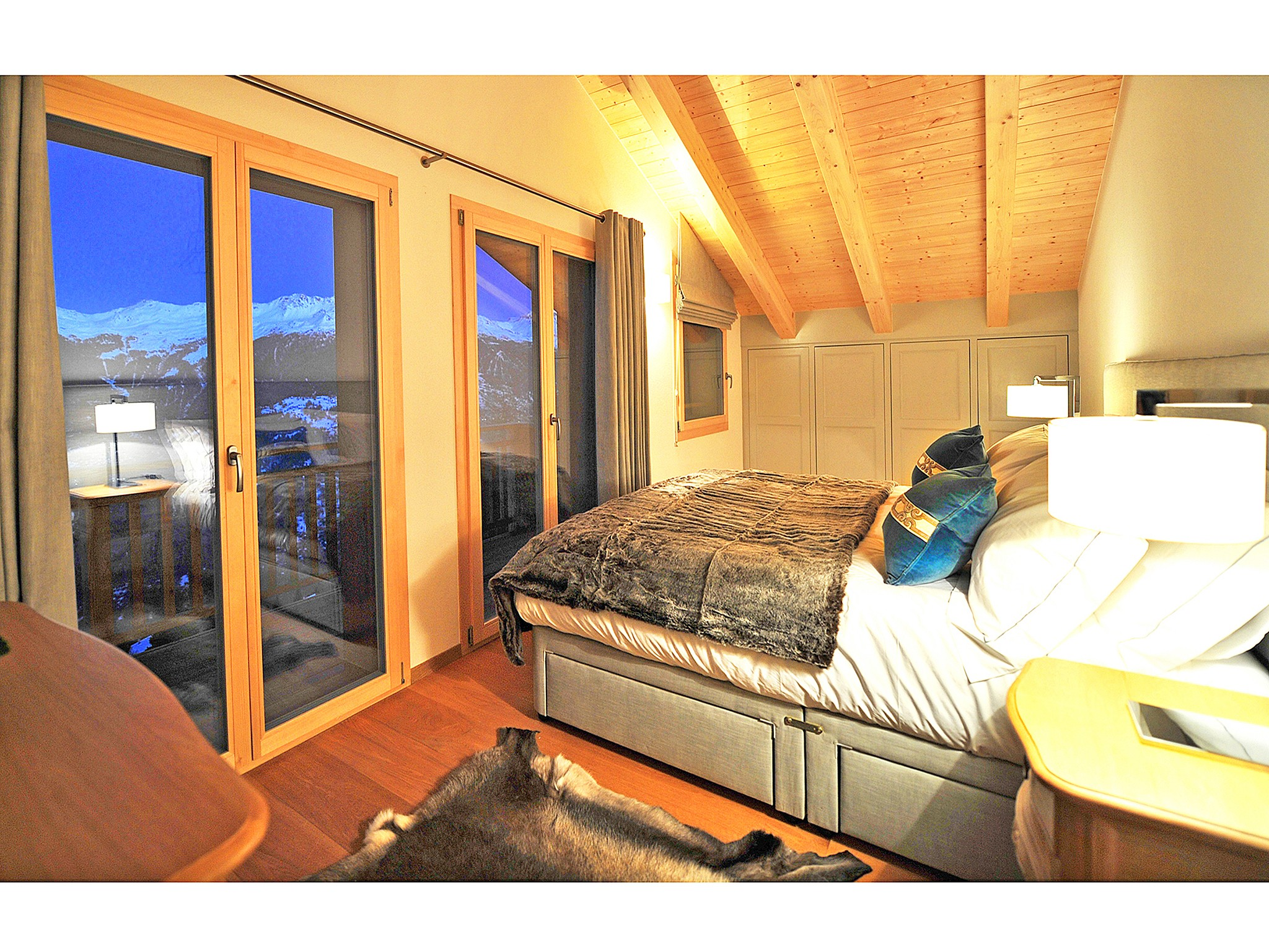 Chalet Brock - bedroom