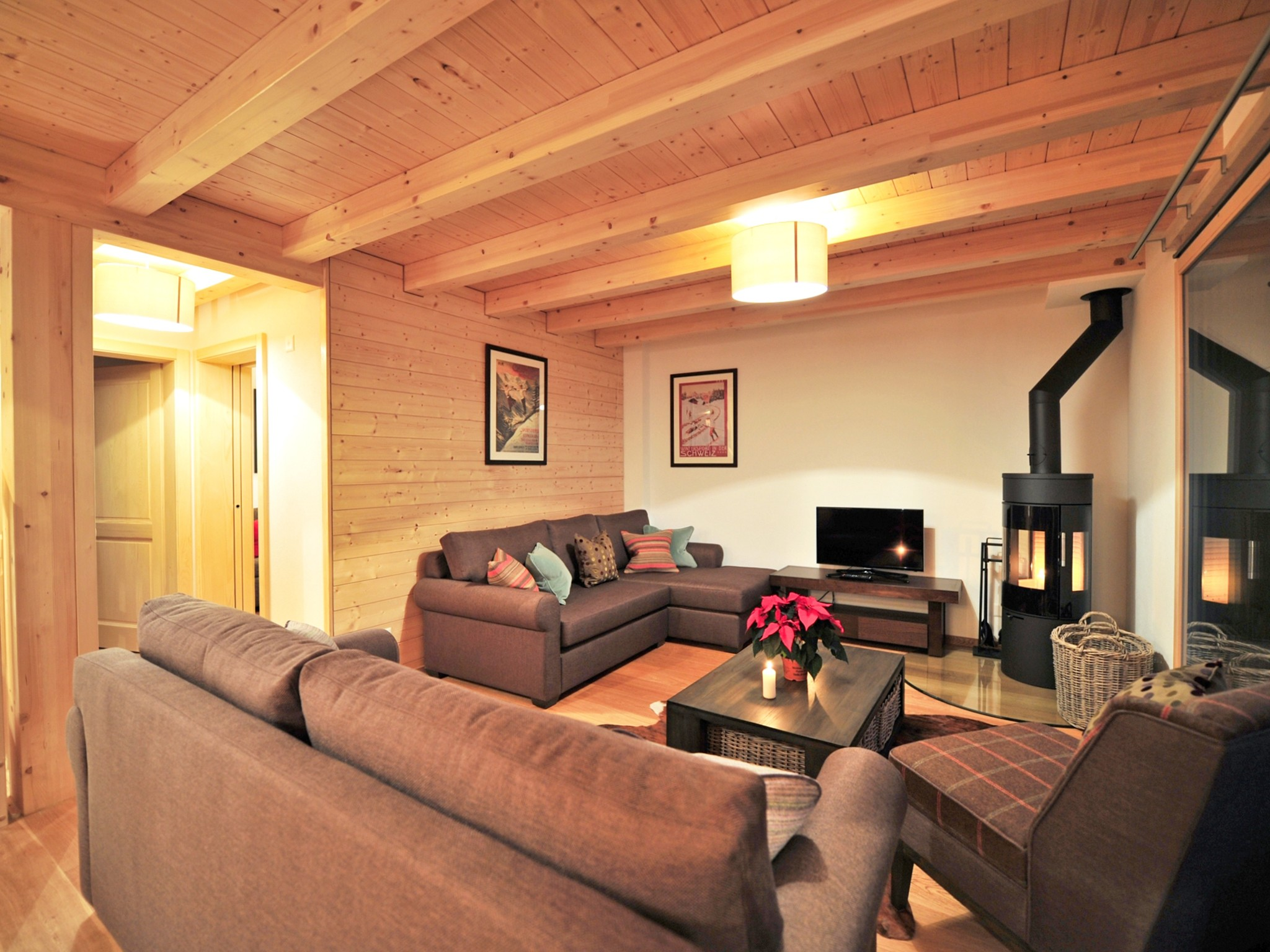 Chalet Brock - living room