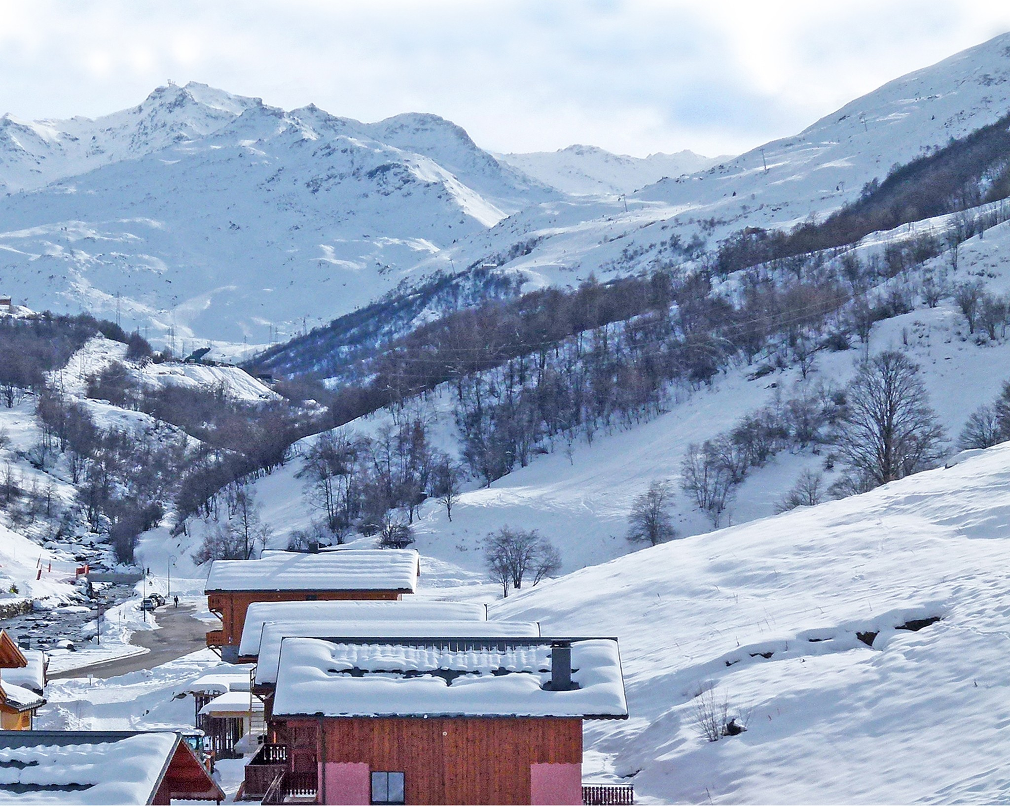 Chalet Ski Royal - panoramic view