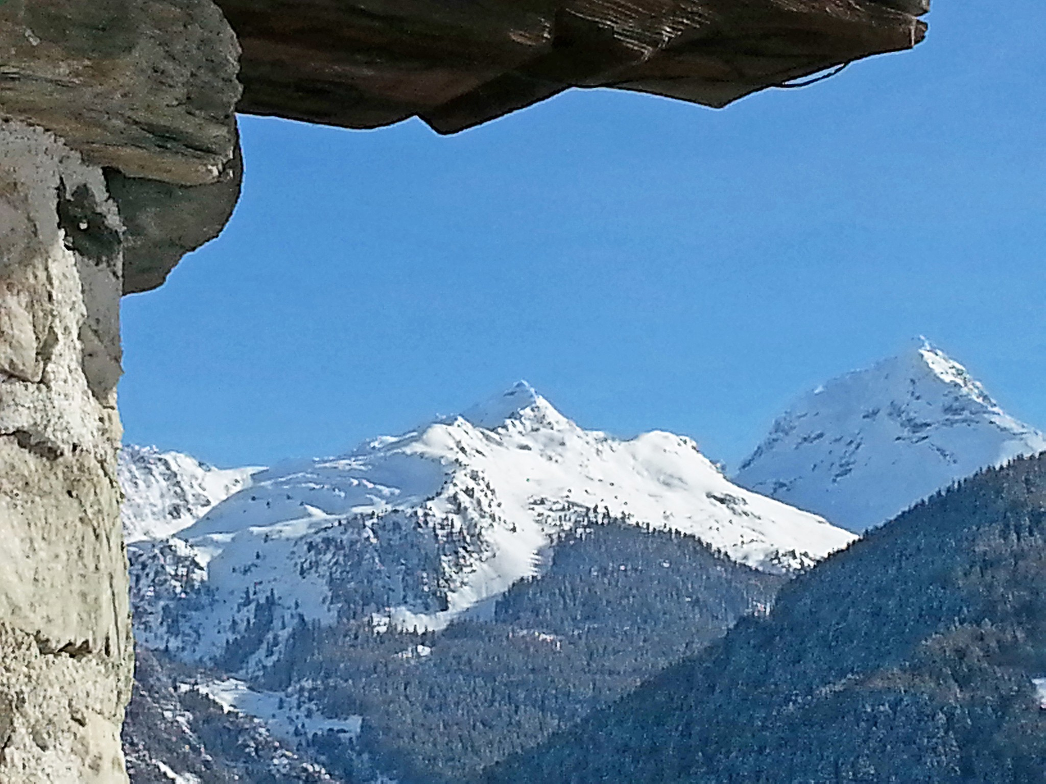 Chalet Villaroger - panoramic view