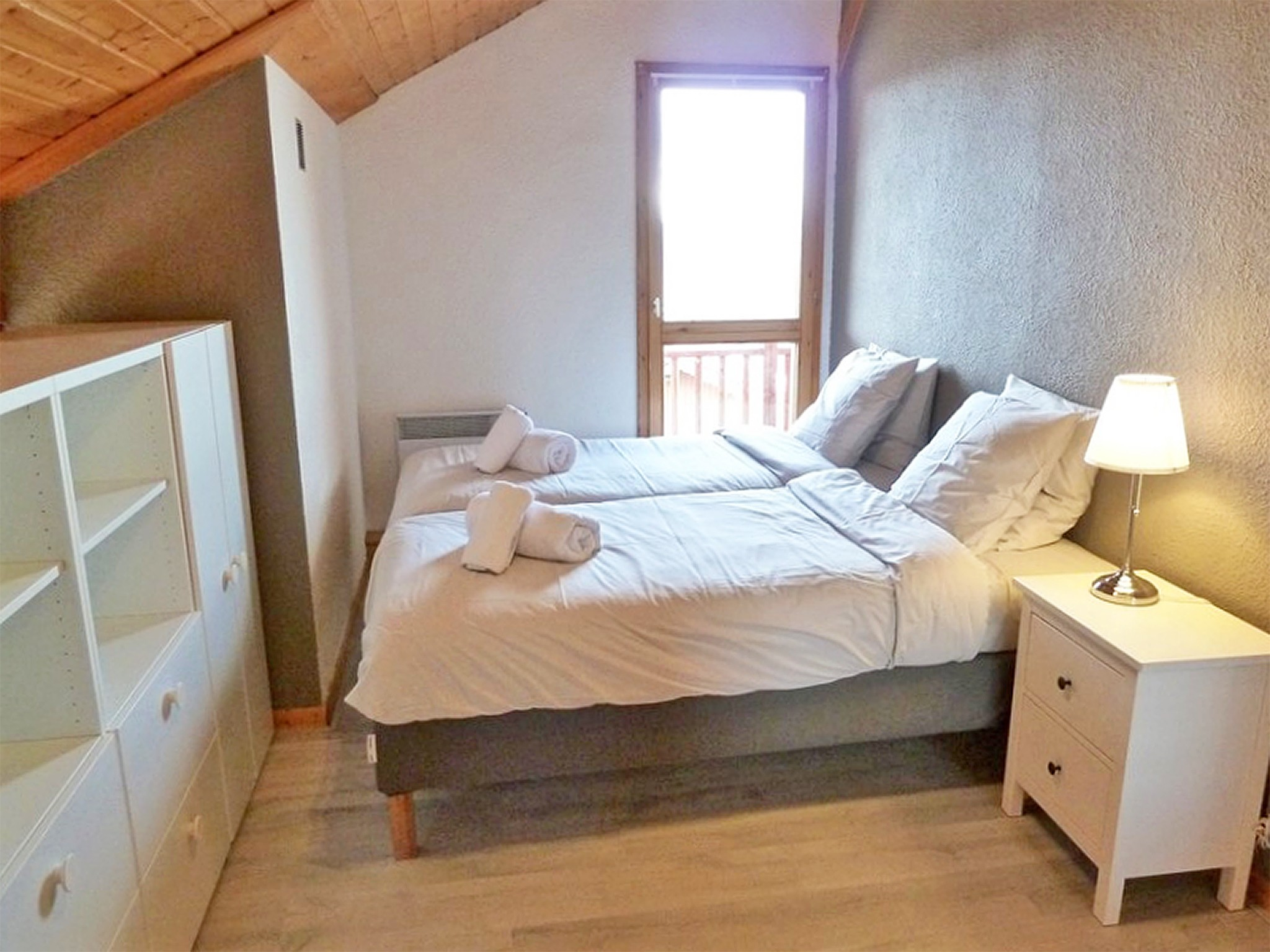 Chalet de Bellecôte Hunting Lodge - bedroom