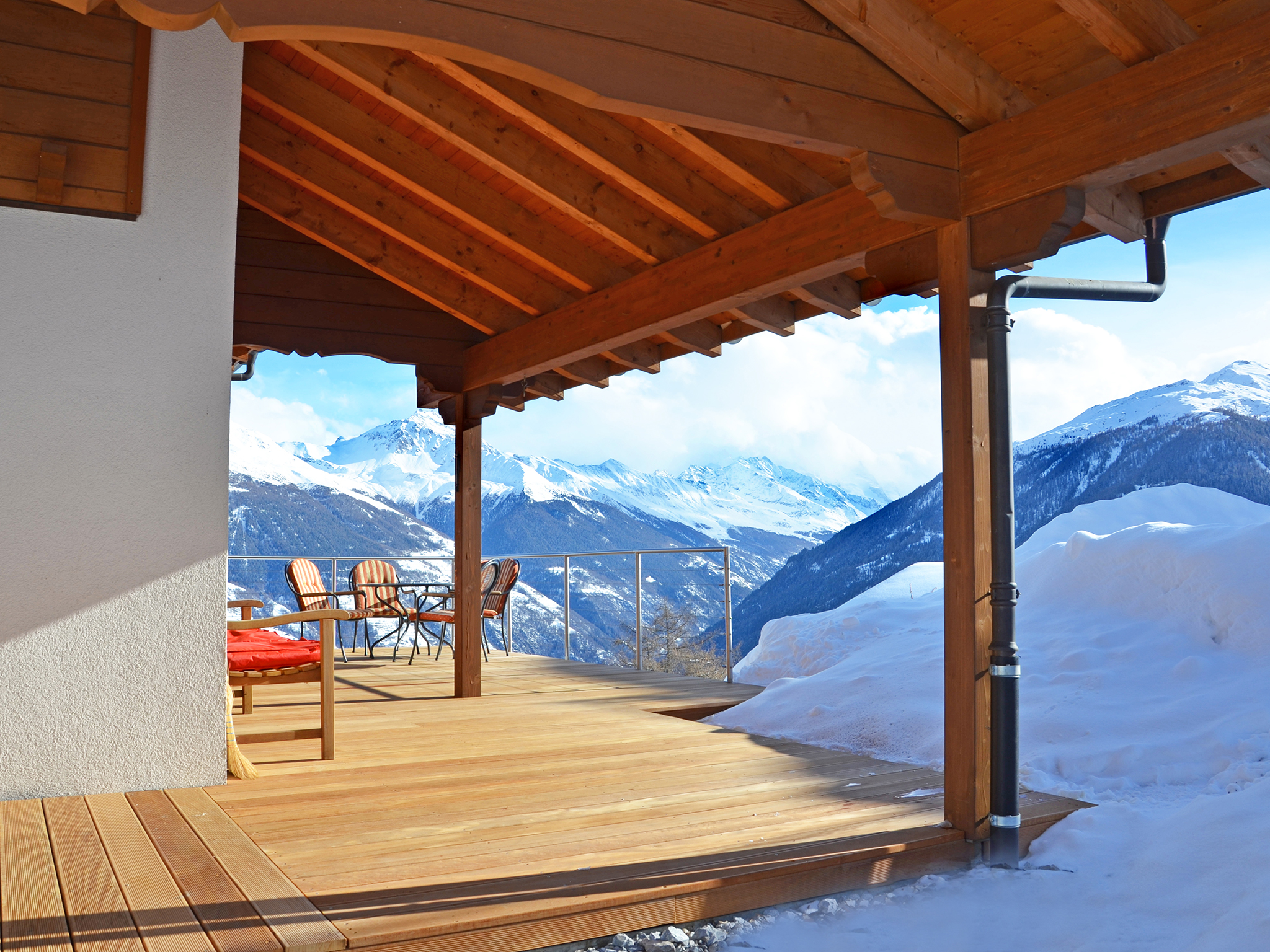 Chalet Magic Mountain - panoramic view