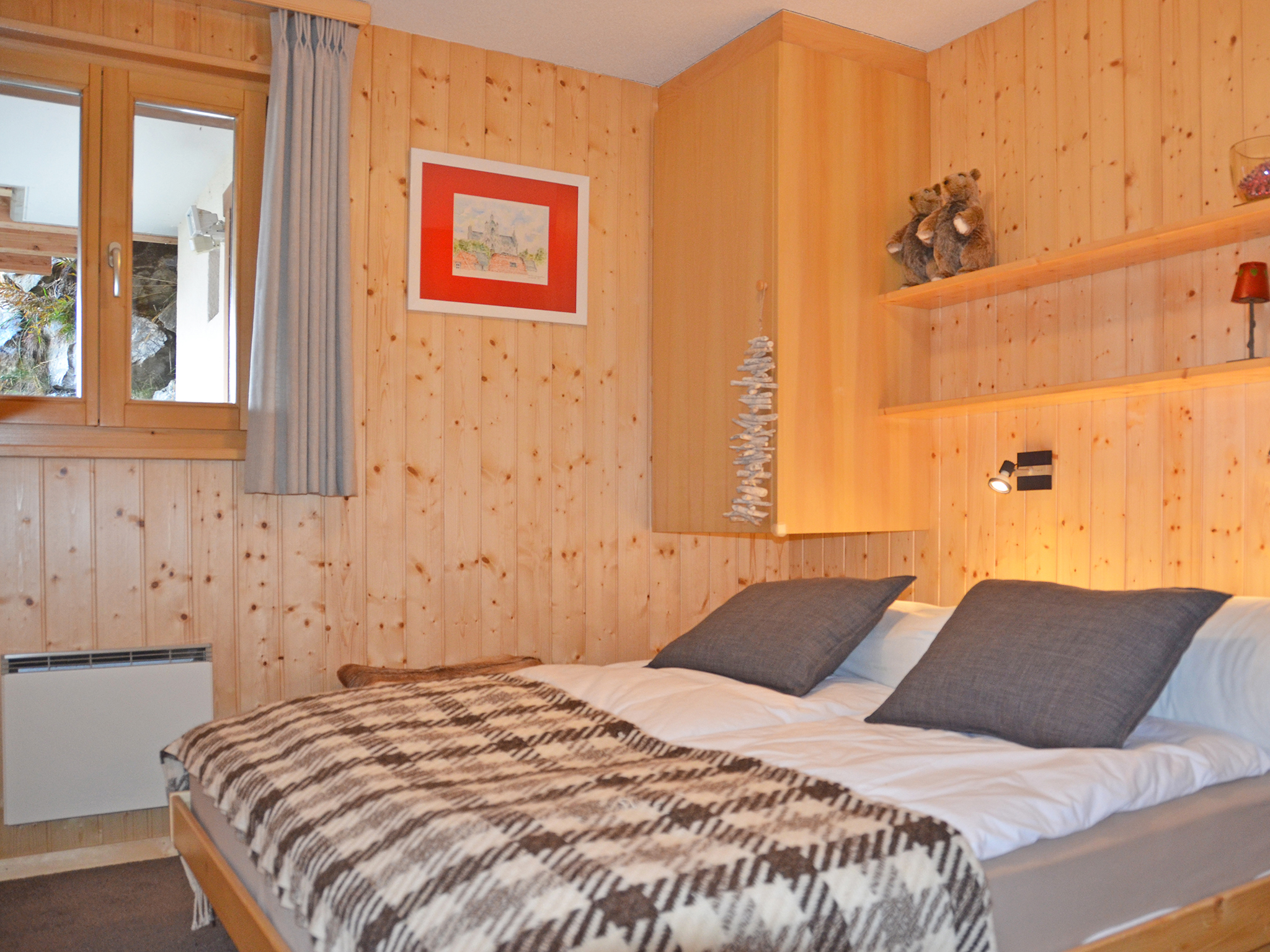 Chalet Magic Mountain - bedroom