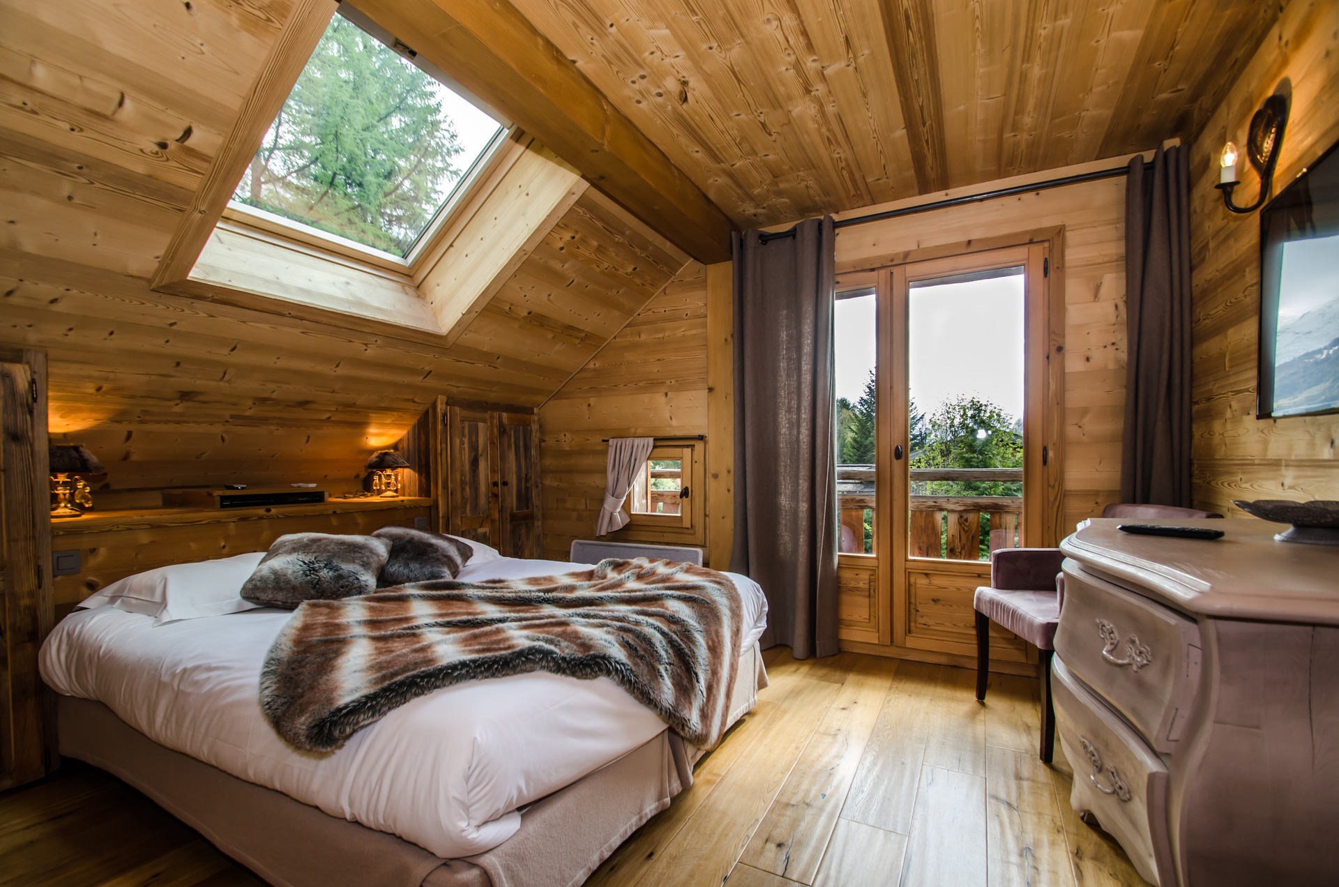 Chalet Peyrlaz - bedroom