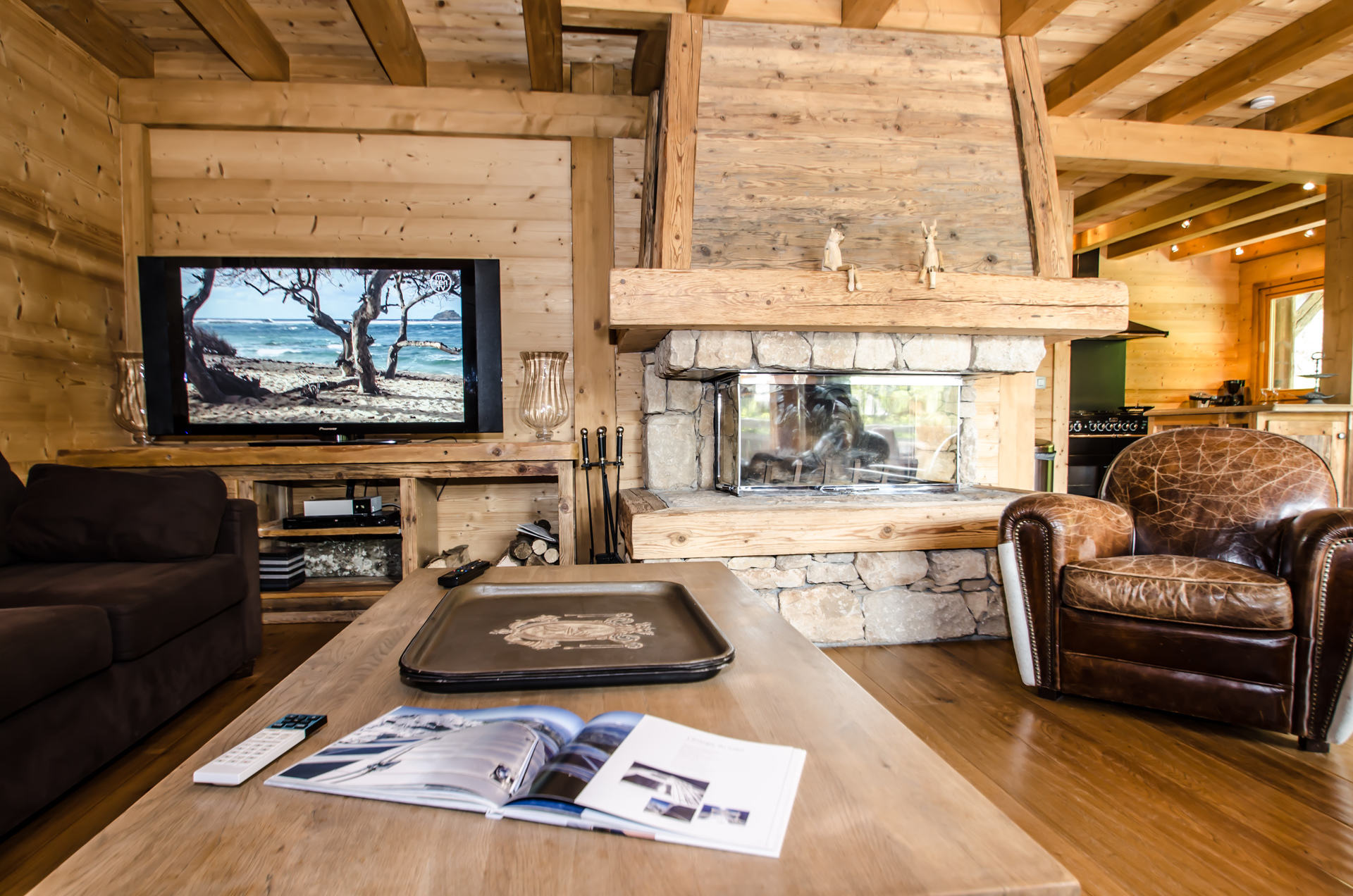 Chalet Peyrlaz - living room