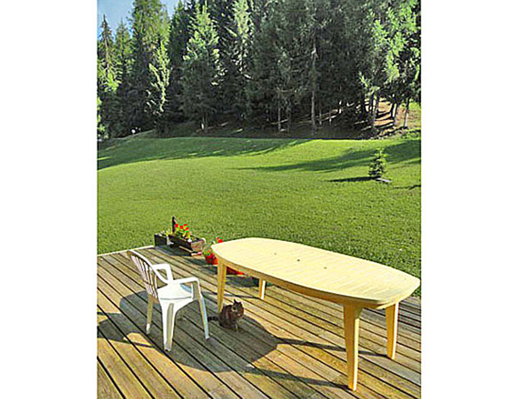 Chalet Peudral - terrasse