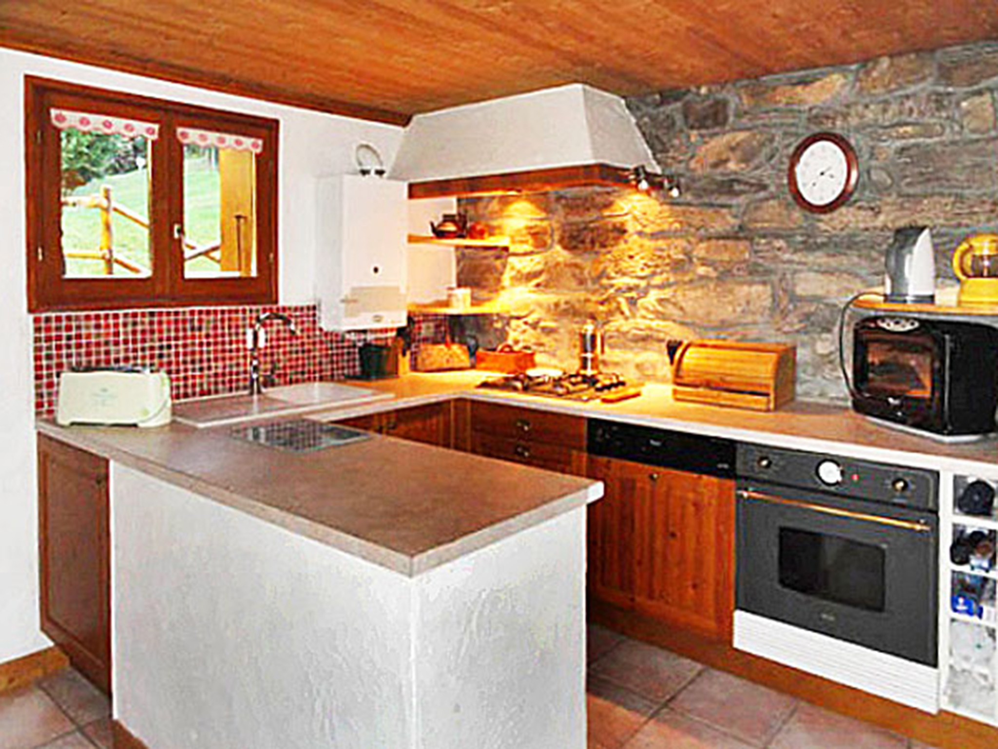 Chalet Peudral - 1 - cuisine
