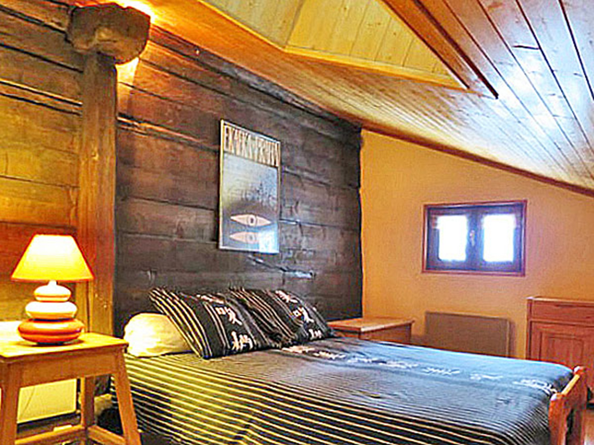 Chalet Peudral - 1 - chambre